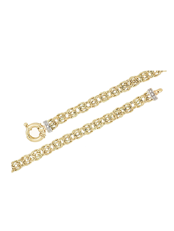 Diemer Gold Königskette mit Diamanten VuZJh