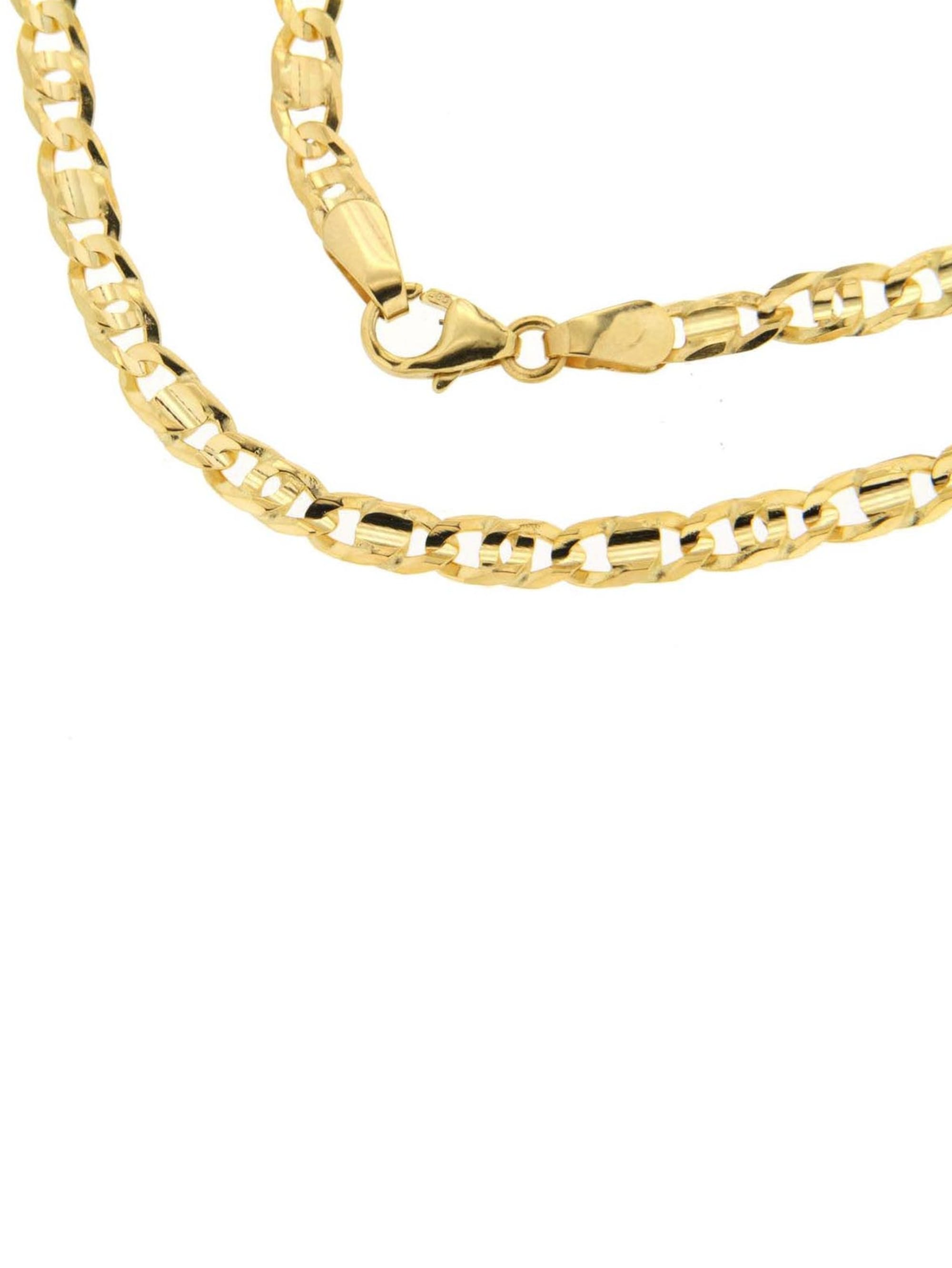 Grazielli Tigerauge-Armband massiv UKkSY