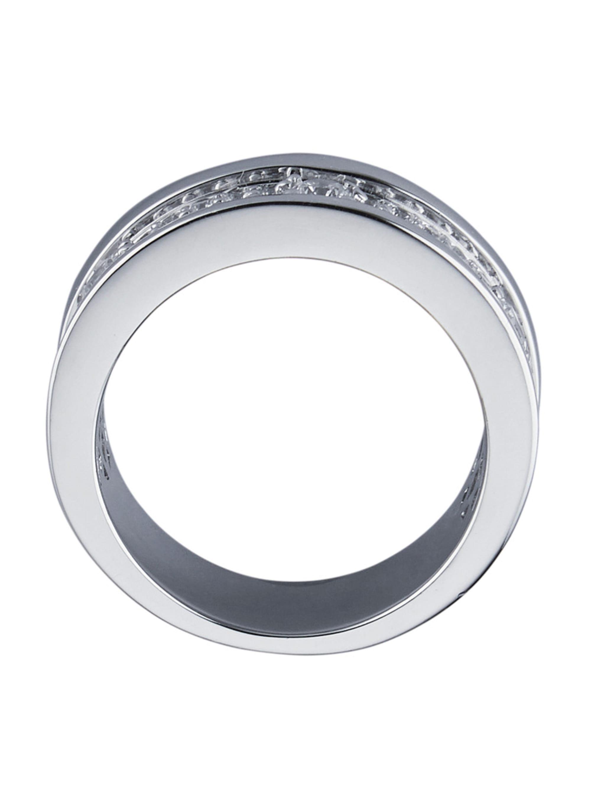 Diemer Silber Damenring mit Zirkonia lm3AS