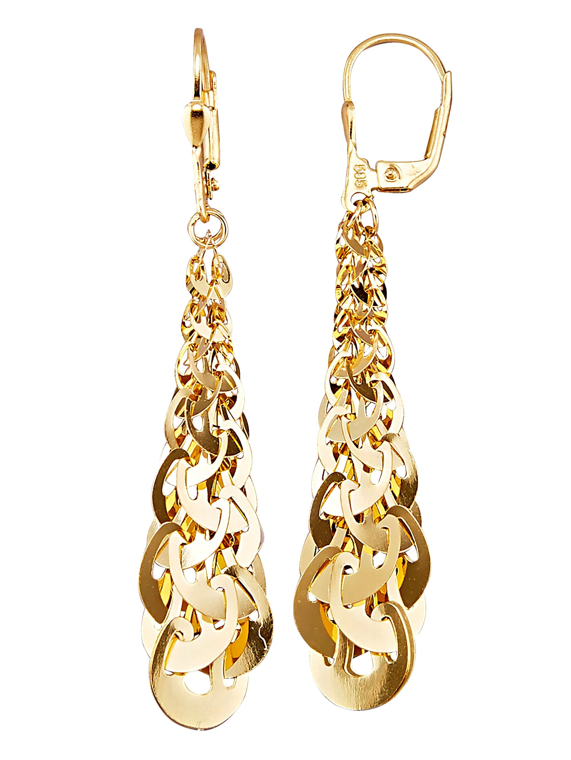 Diemer Gold Ohrringe in Gelbgold IvQE3