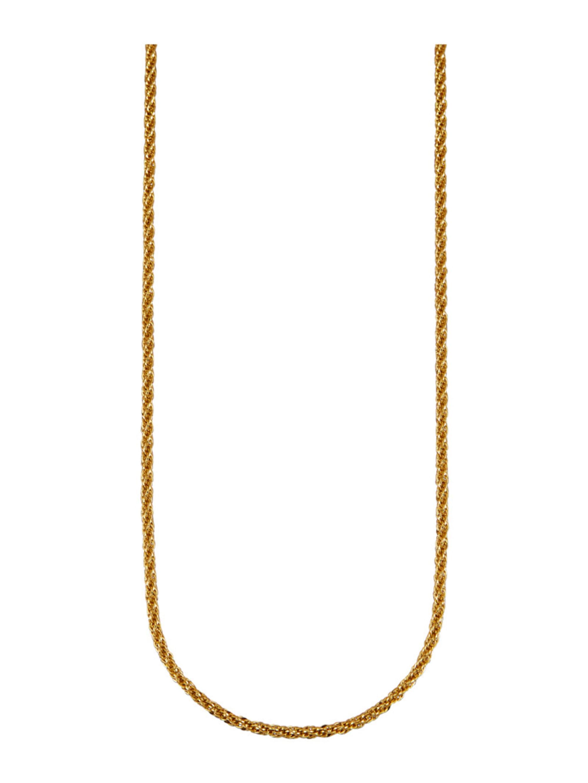 Diemer Gold Kordelkette in Gelbgold 585 8XtiF