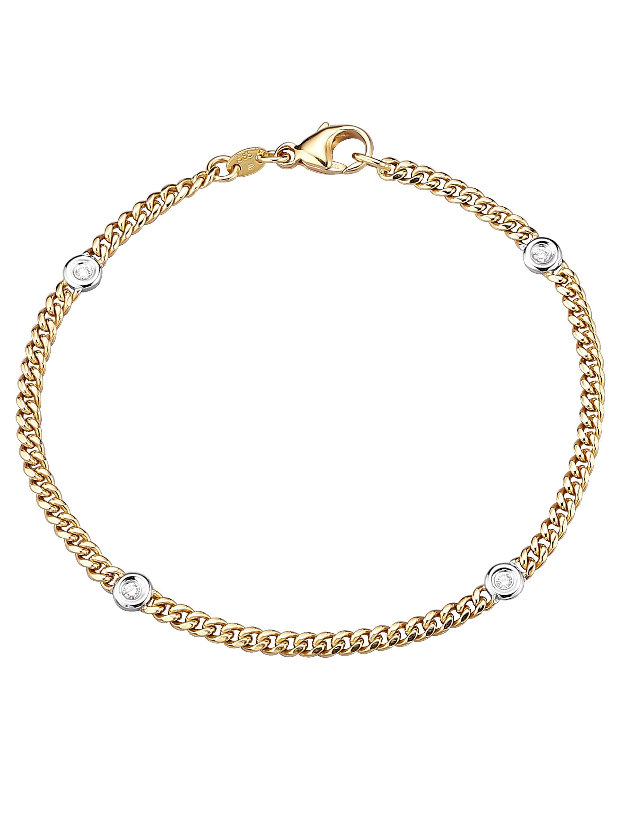 Diemer Diamant Armband mit Brillanten SxGvl