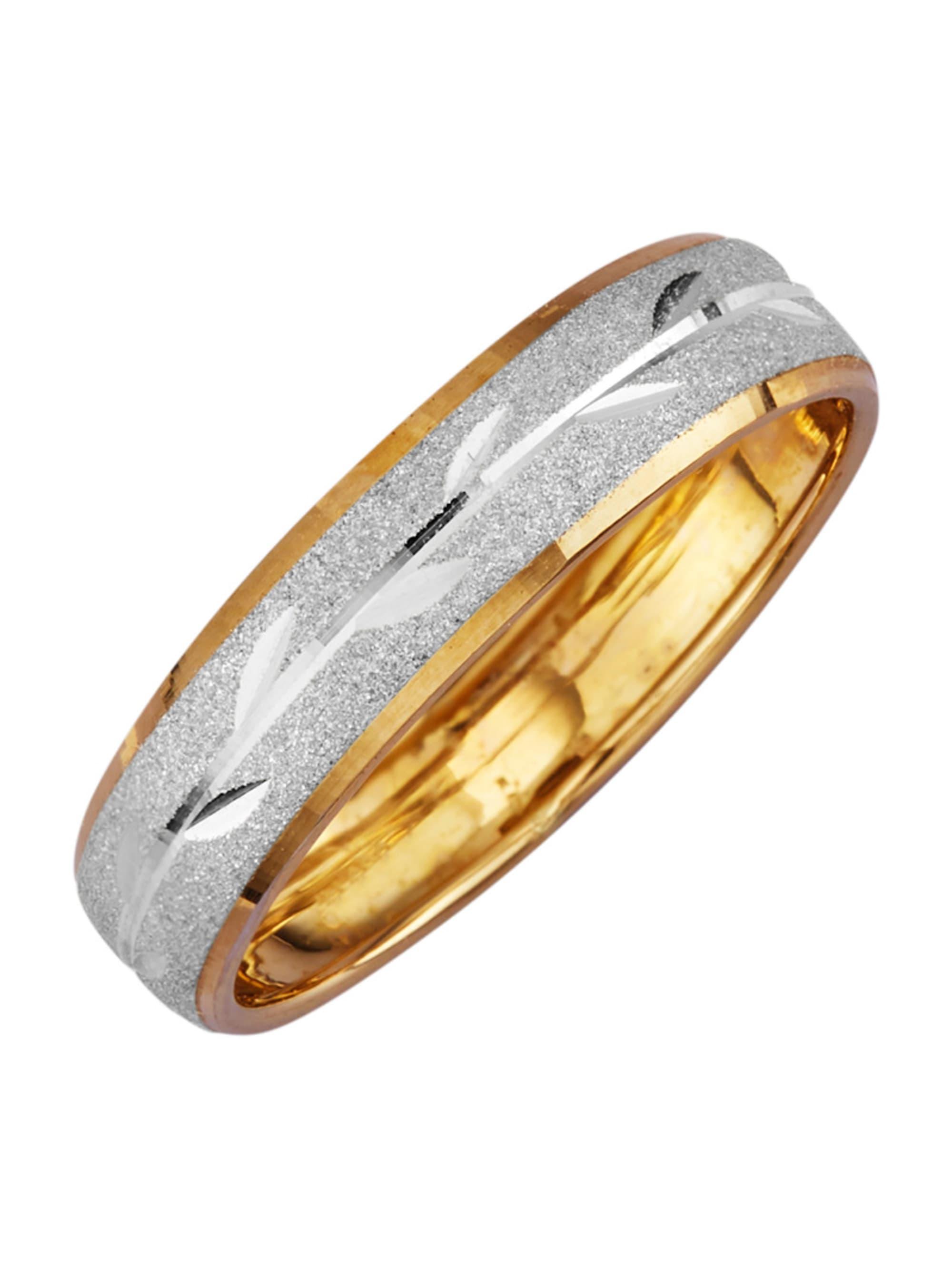 Damenring in Gelbgold 375 pIwIc