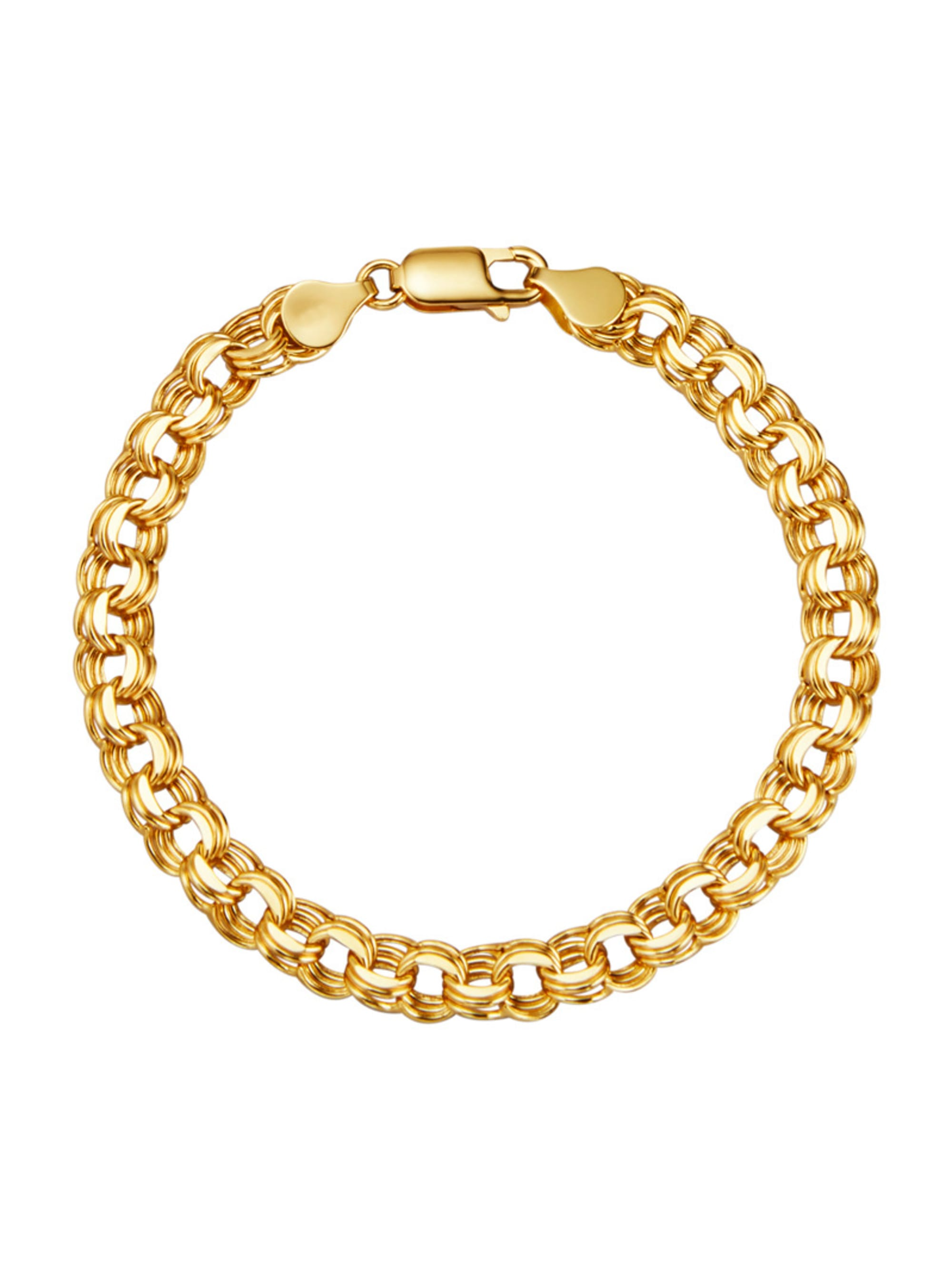 Diemer Gold Armband in Gelbgold 585 iqKHB