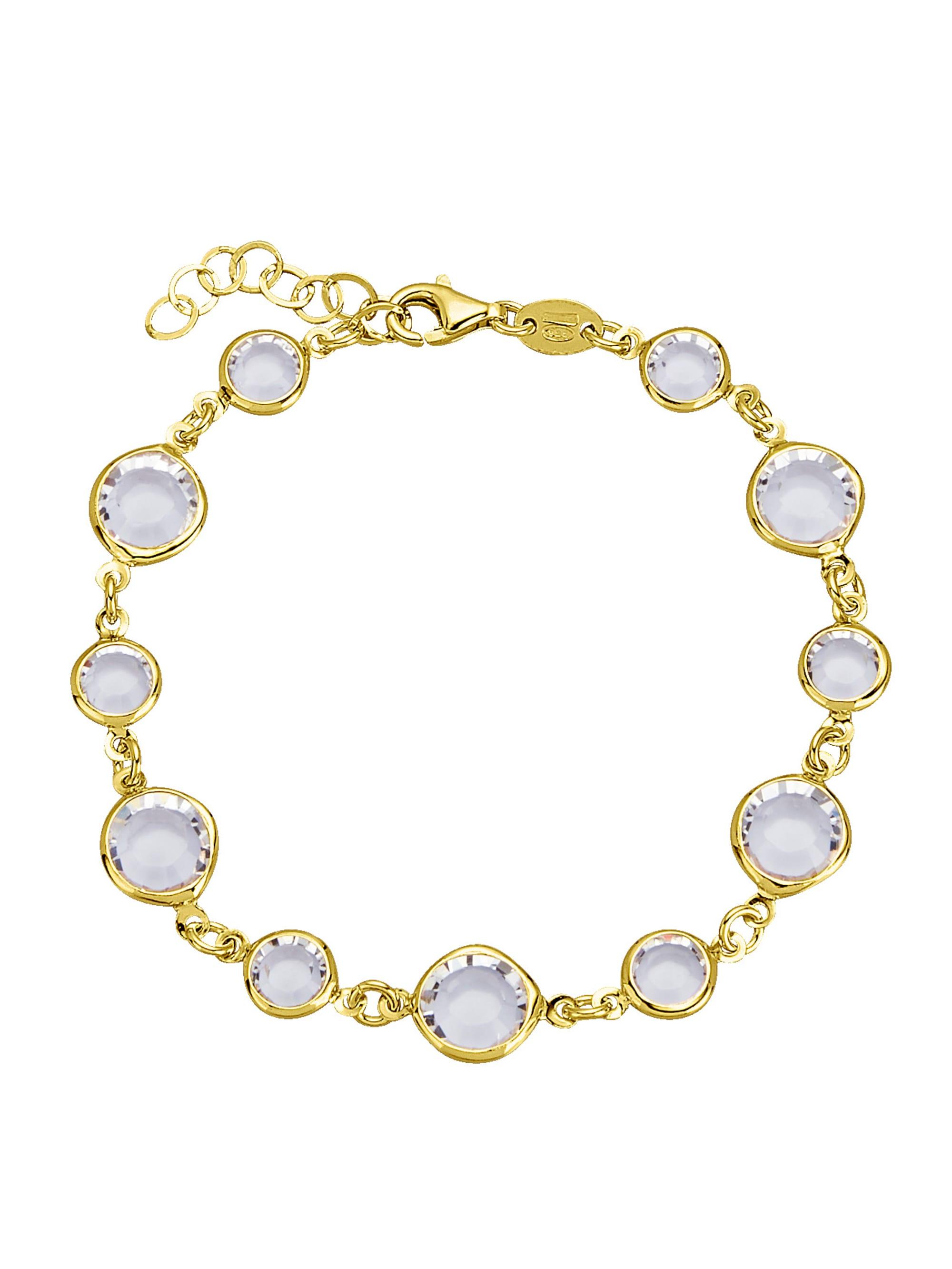 AMY VERMONT Armband mit Swarovski-Kristallen 28bRg