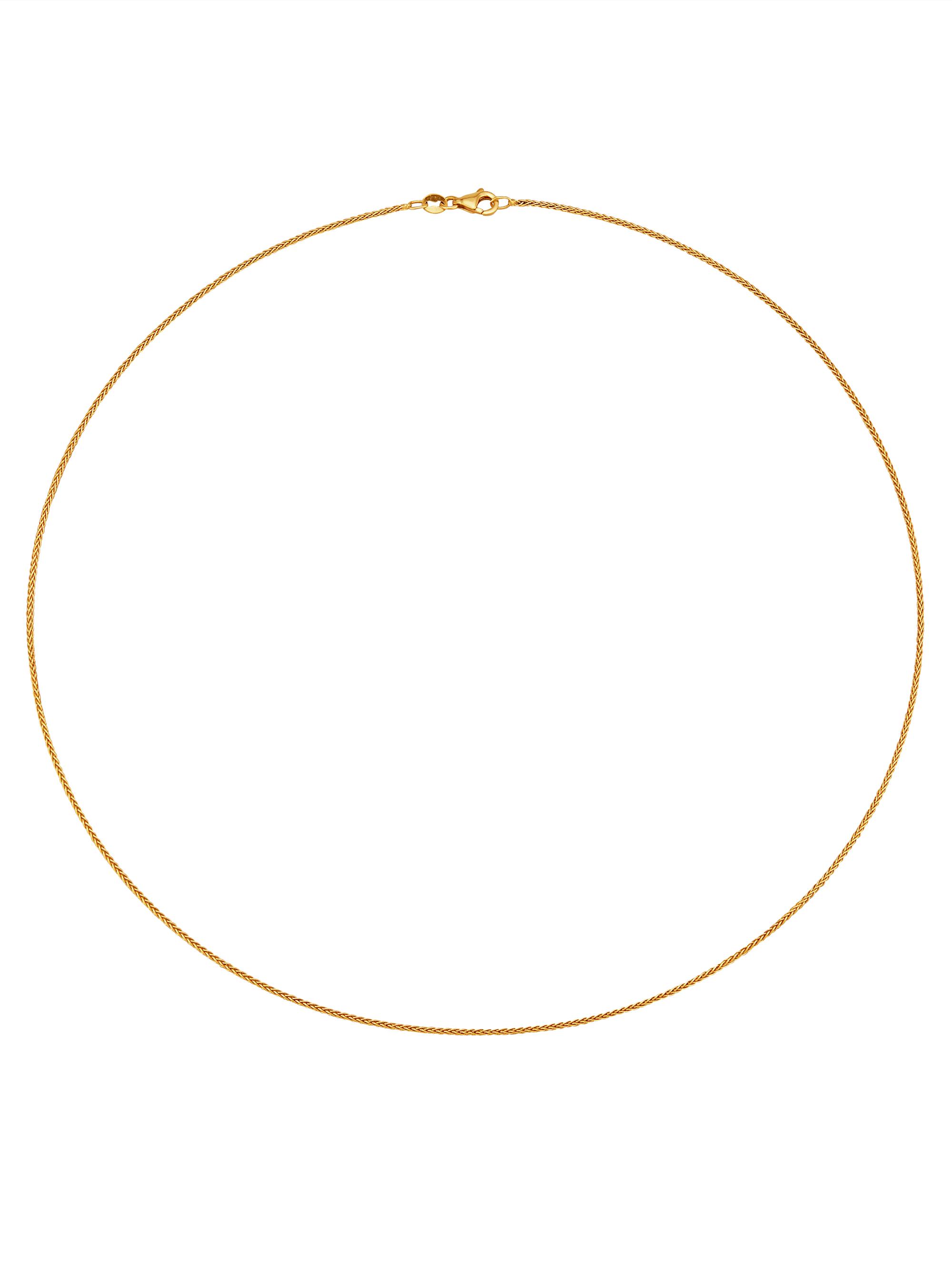 Diemer Gold Zopfkette in Gelbgold 585 yFtlt