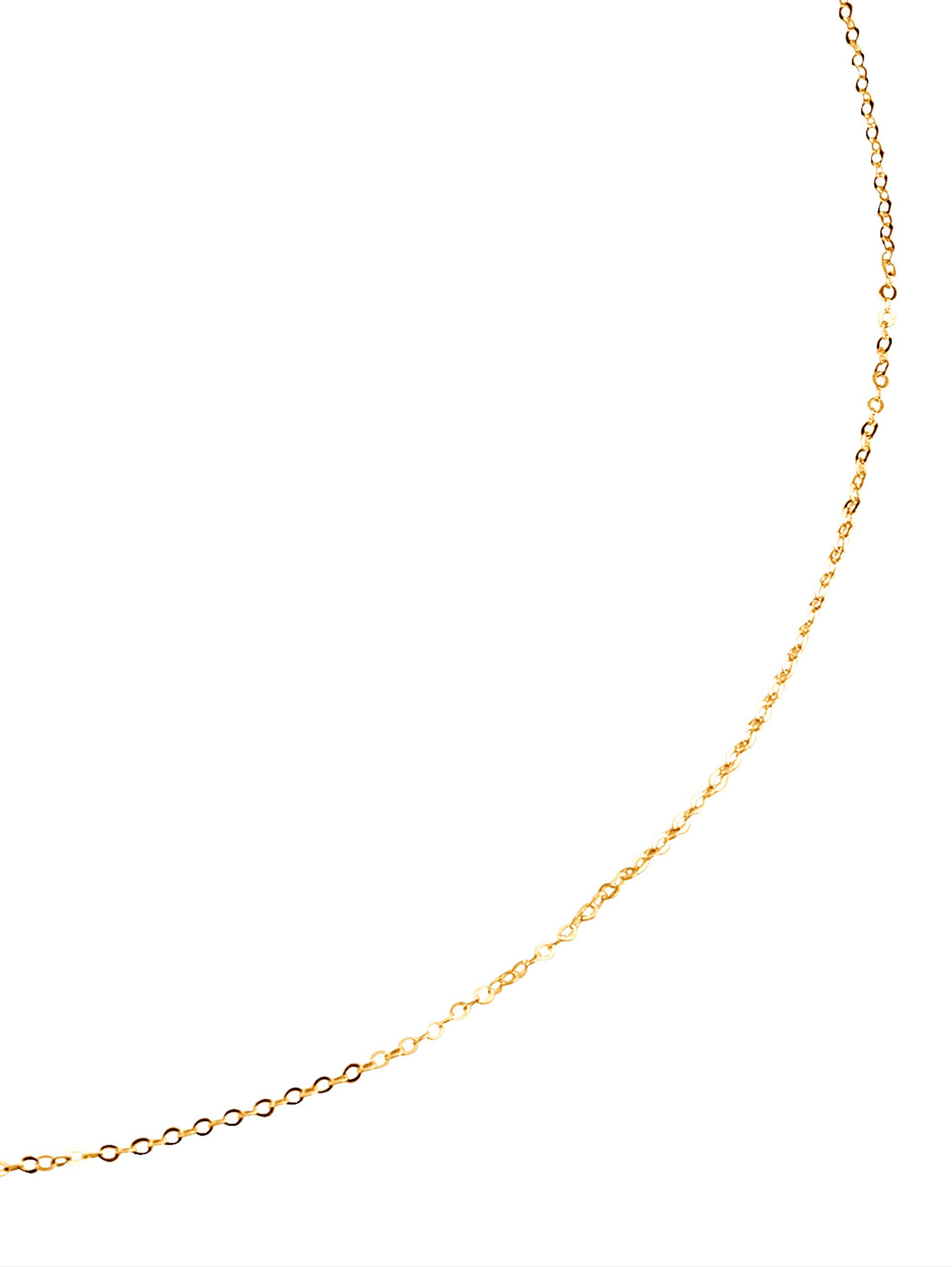 Ankerkette in Gelbgold WEfgE