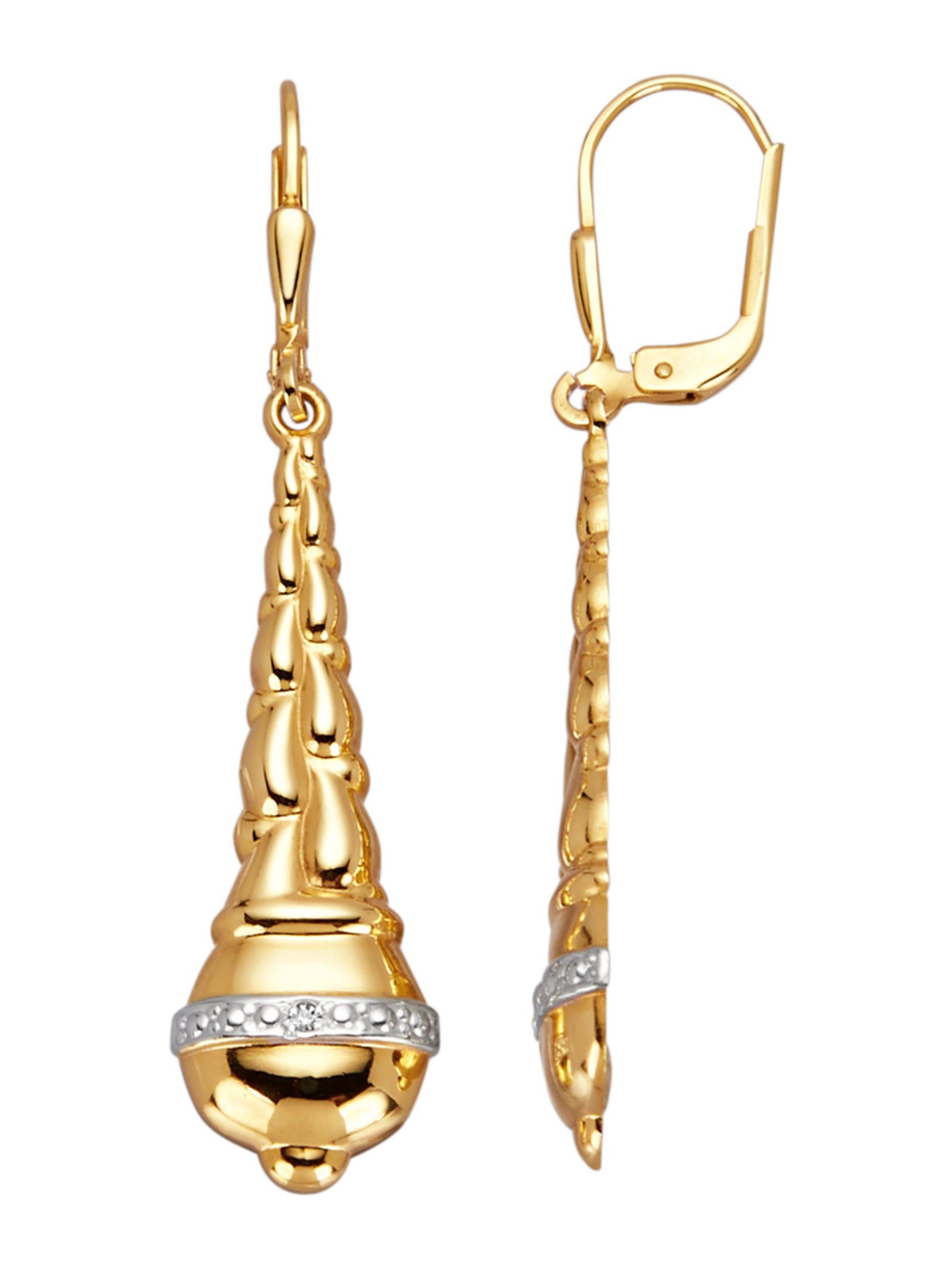 Ohrringe mit Diamanten M7ZOO