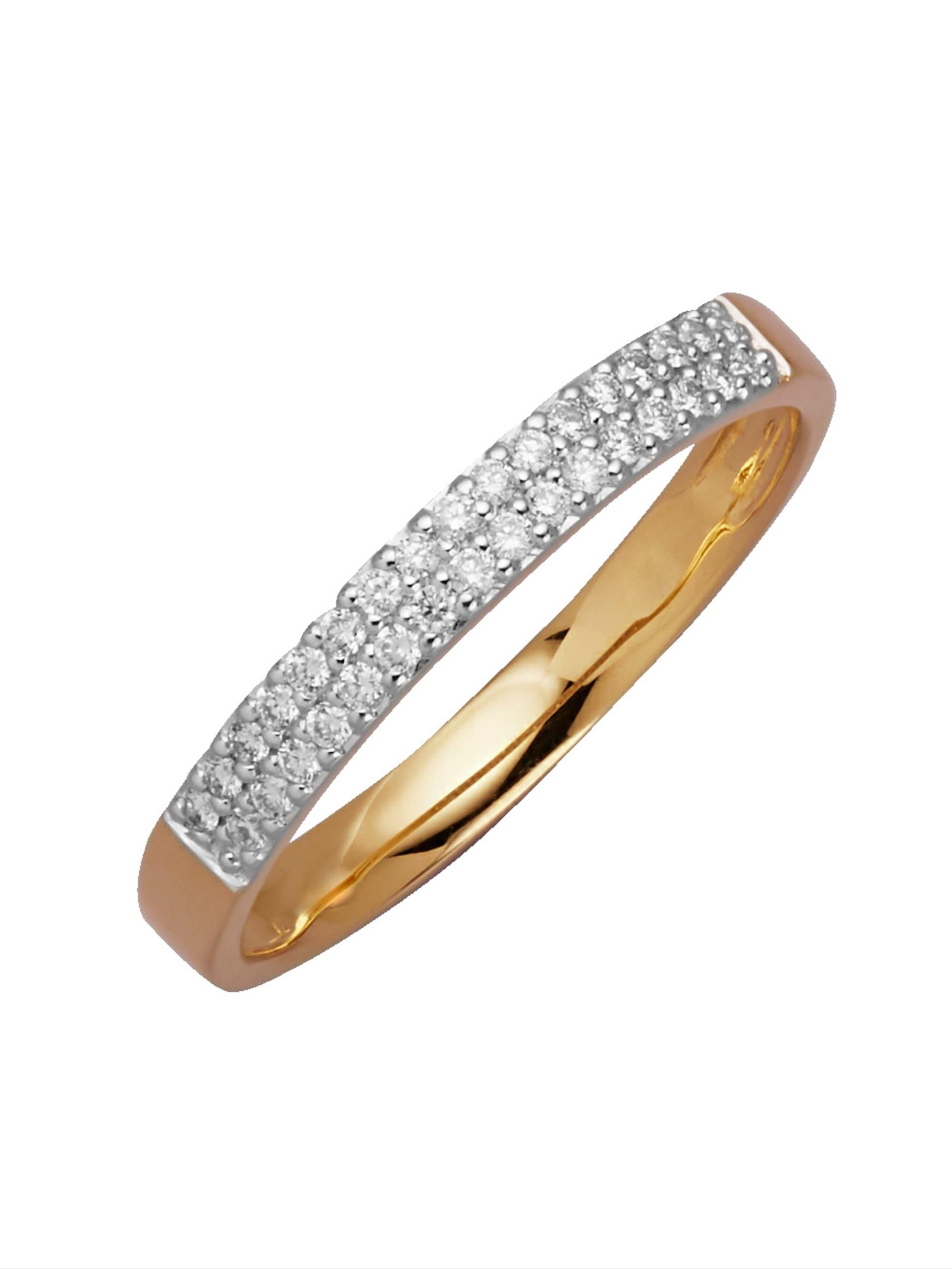 Diemer Diamant Damenring mit Brillanten SwqCp