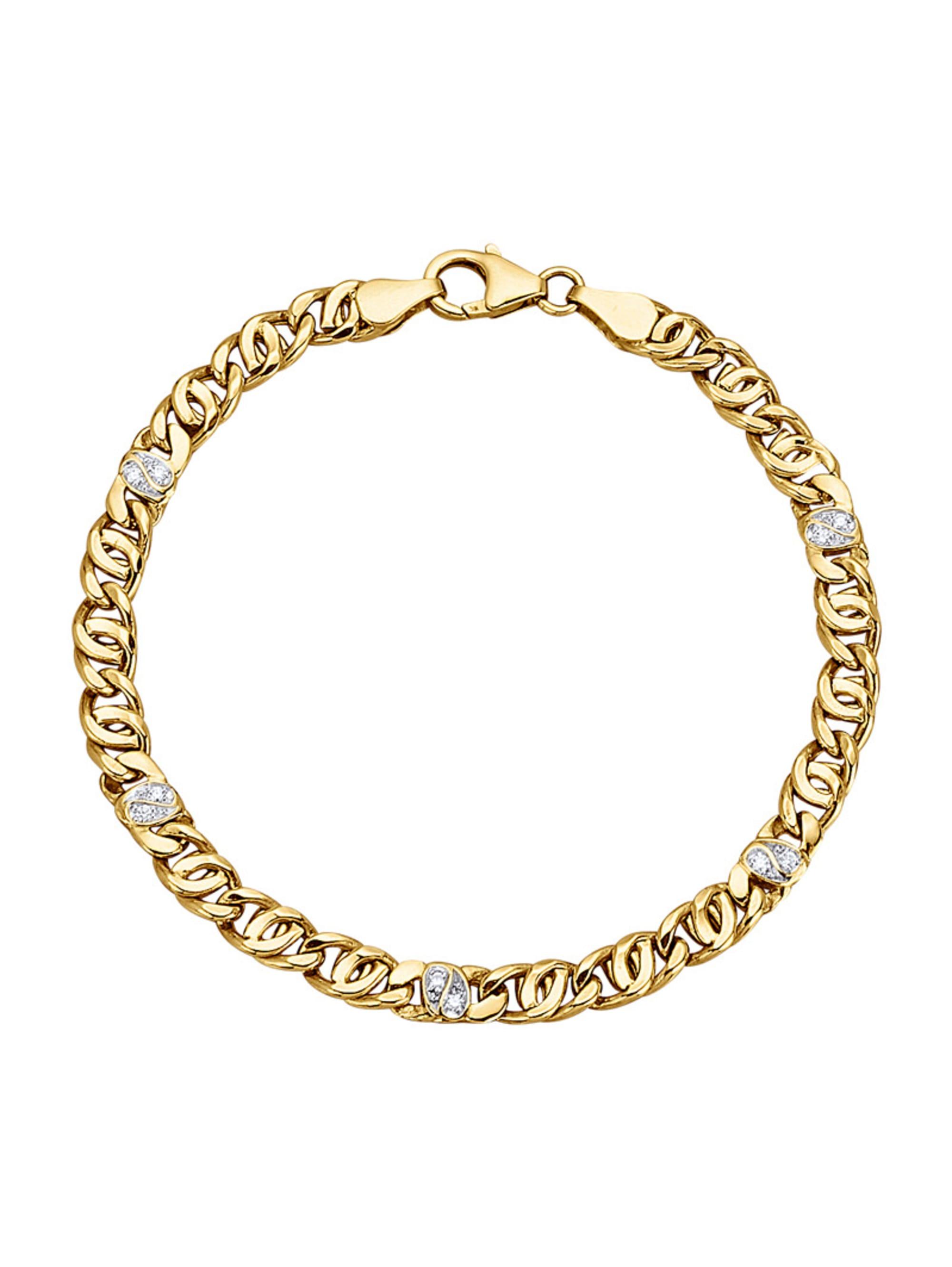 Diemer Diamant Armband mit Brillanten ih5TX