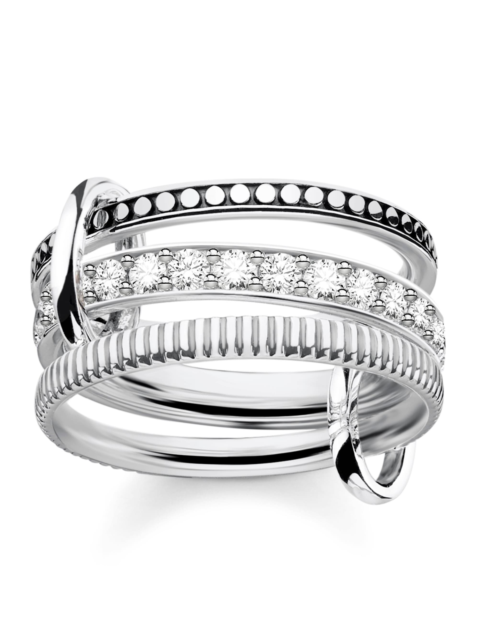 Thomas Sabo Triple Ring in Silber 925 TRIPLE RING TR2193-643-14 UezI1