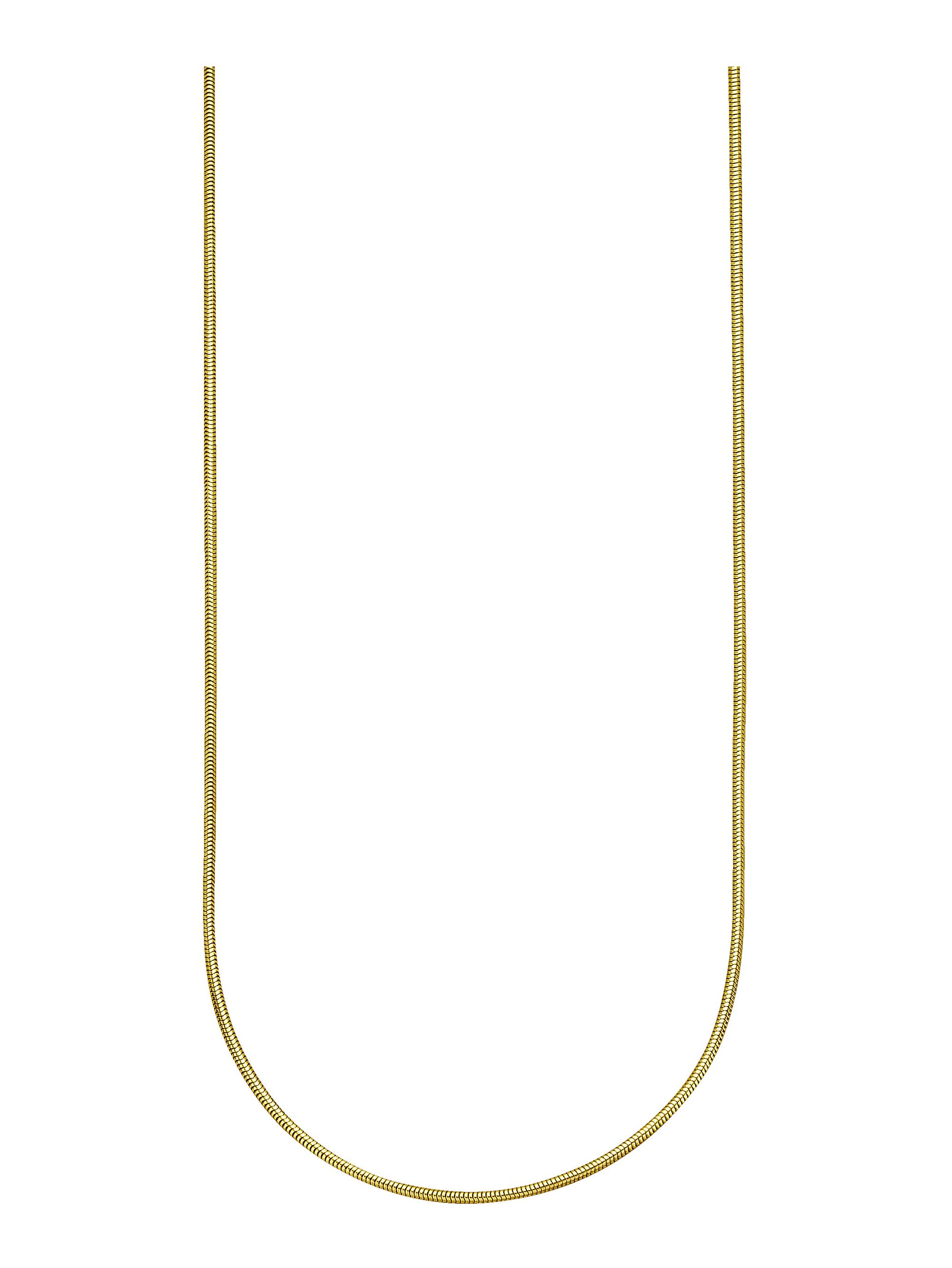 Diemer Gold Schlangenkette in Gelbgold qMW3r