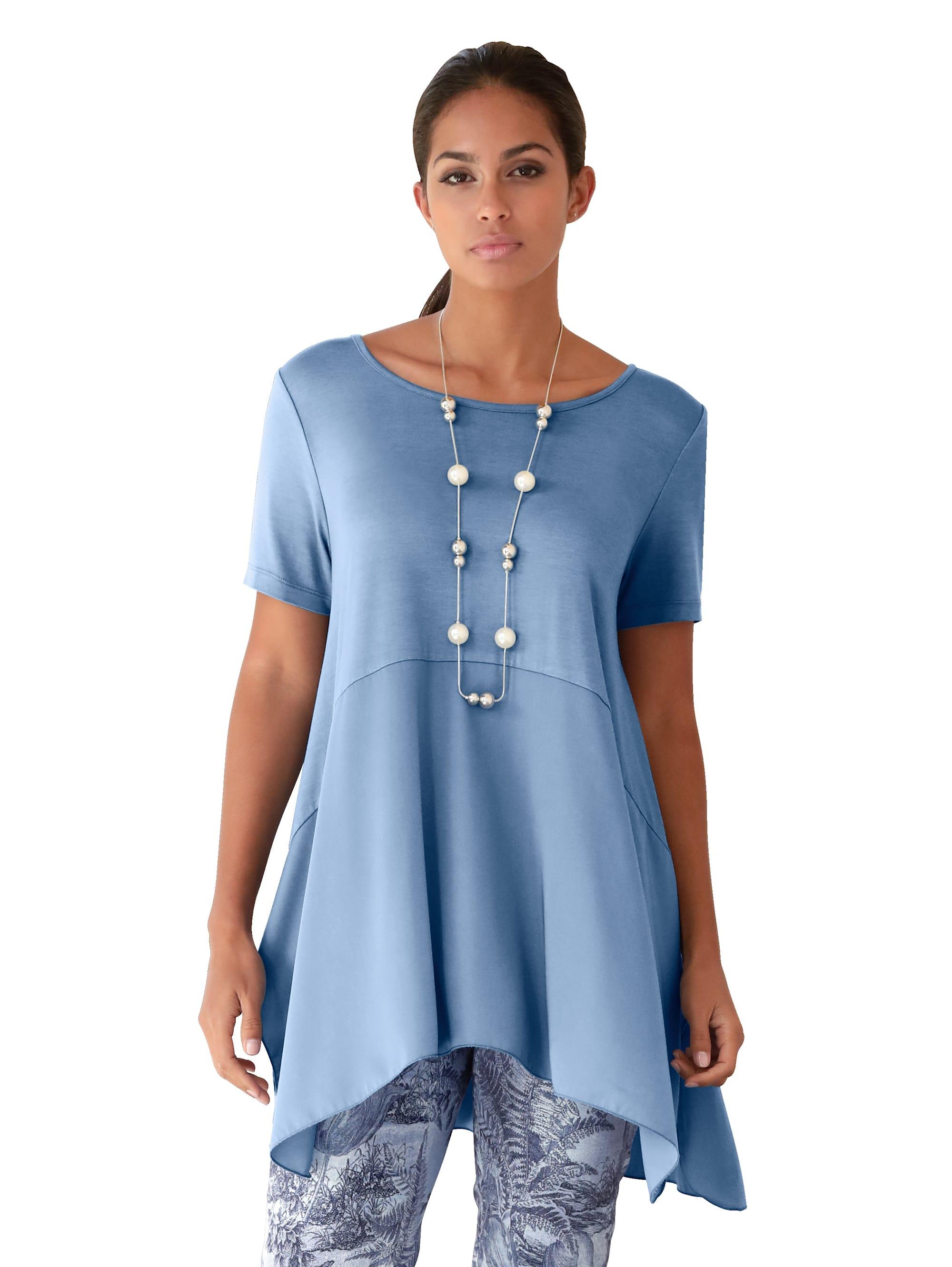 AMY VERMONT Shirt mit Zipfelsaum g6g5j Kbzqg