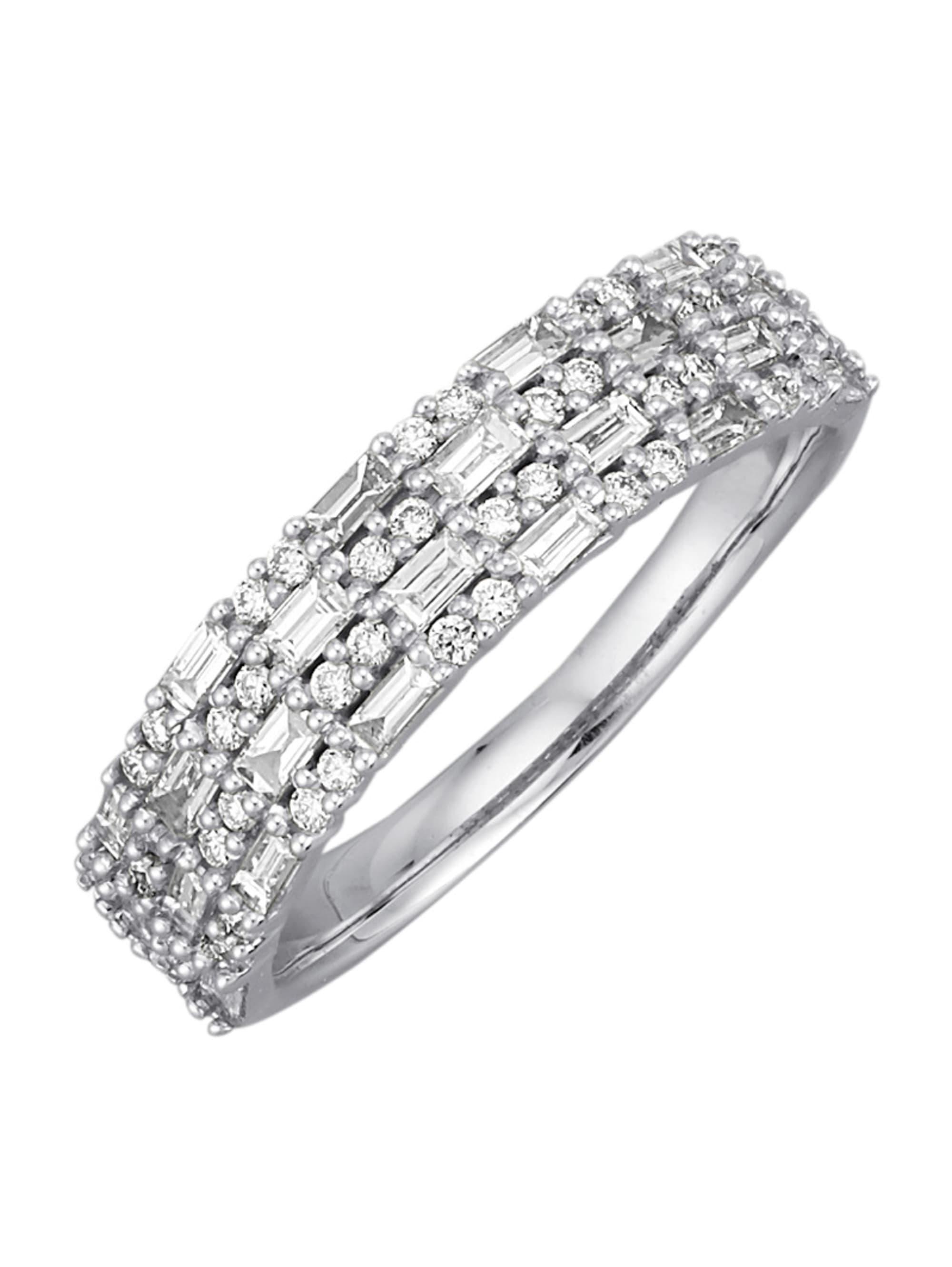 Diemer Diamant Damenring mit Diamanten EmMeX