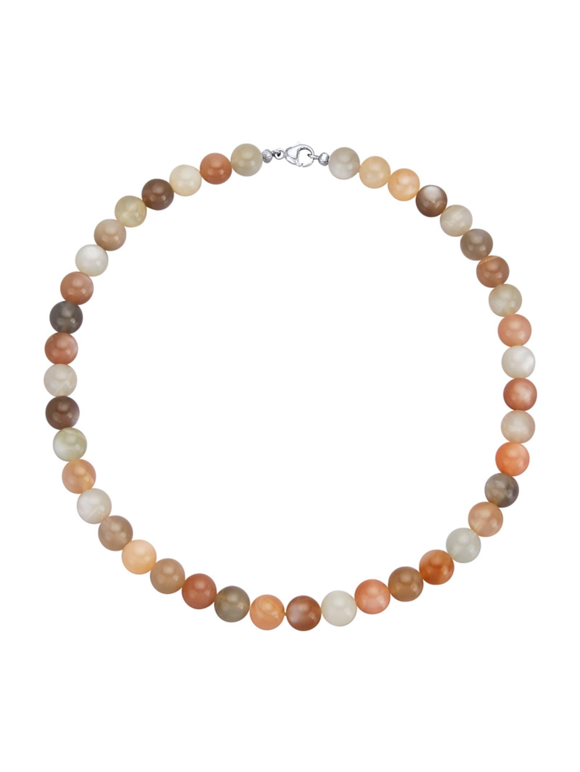 Halskette aus Mondstein jMupt
