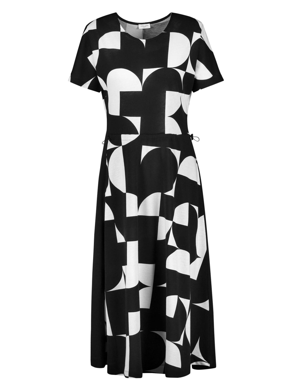 Gerry Weber Kleid mit grafischem Muster 4XWhP NzYln