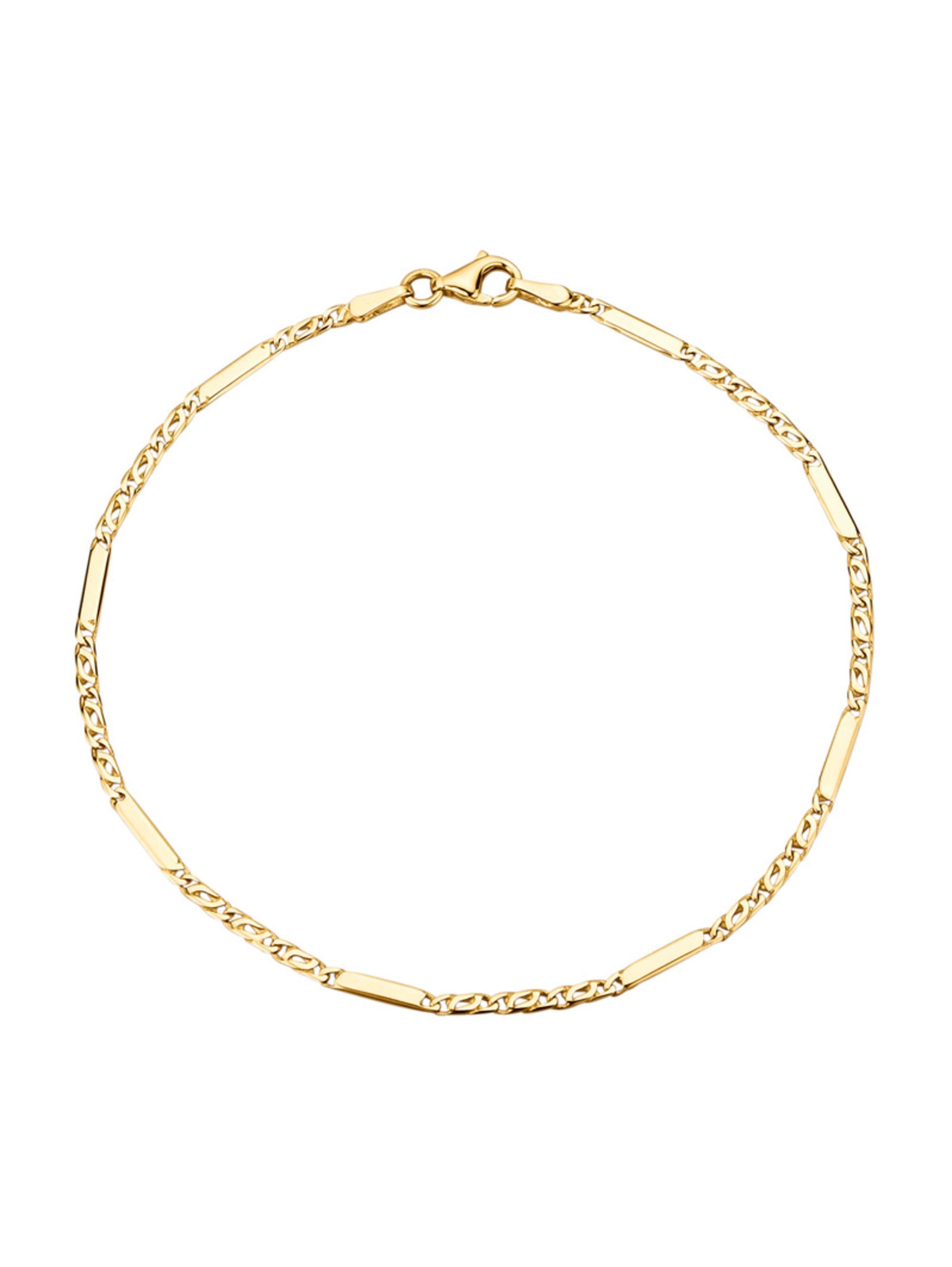 Diemer Highlights Armband in Gelbgold 585 O4izb