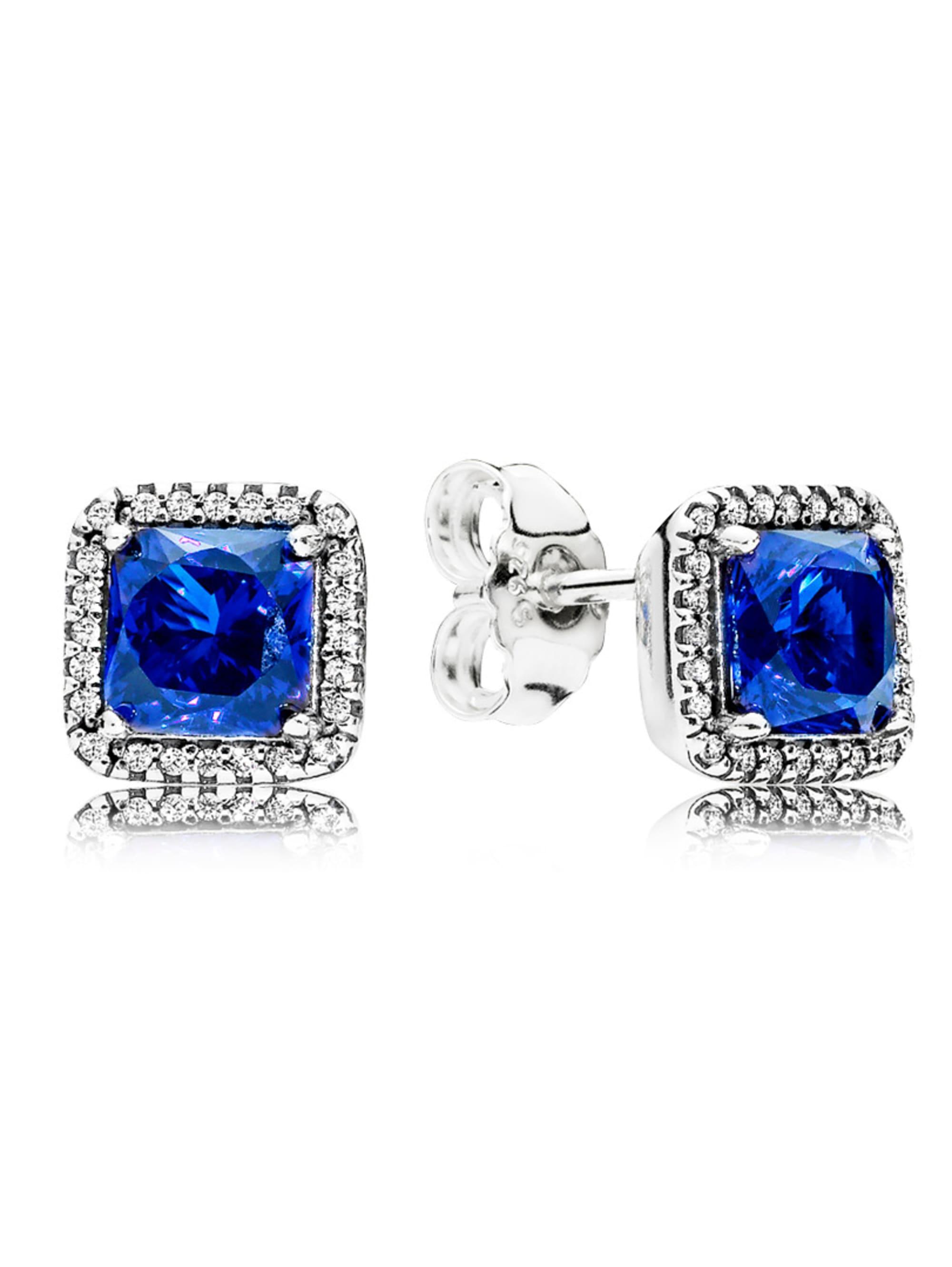Pandora Ohrstecker Zeitlose Eleganz blau 290591NBT ORXXF