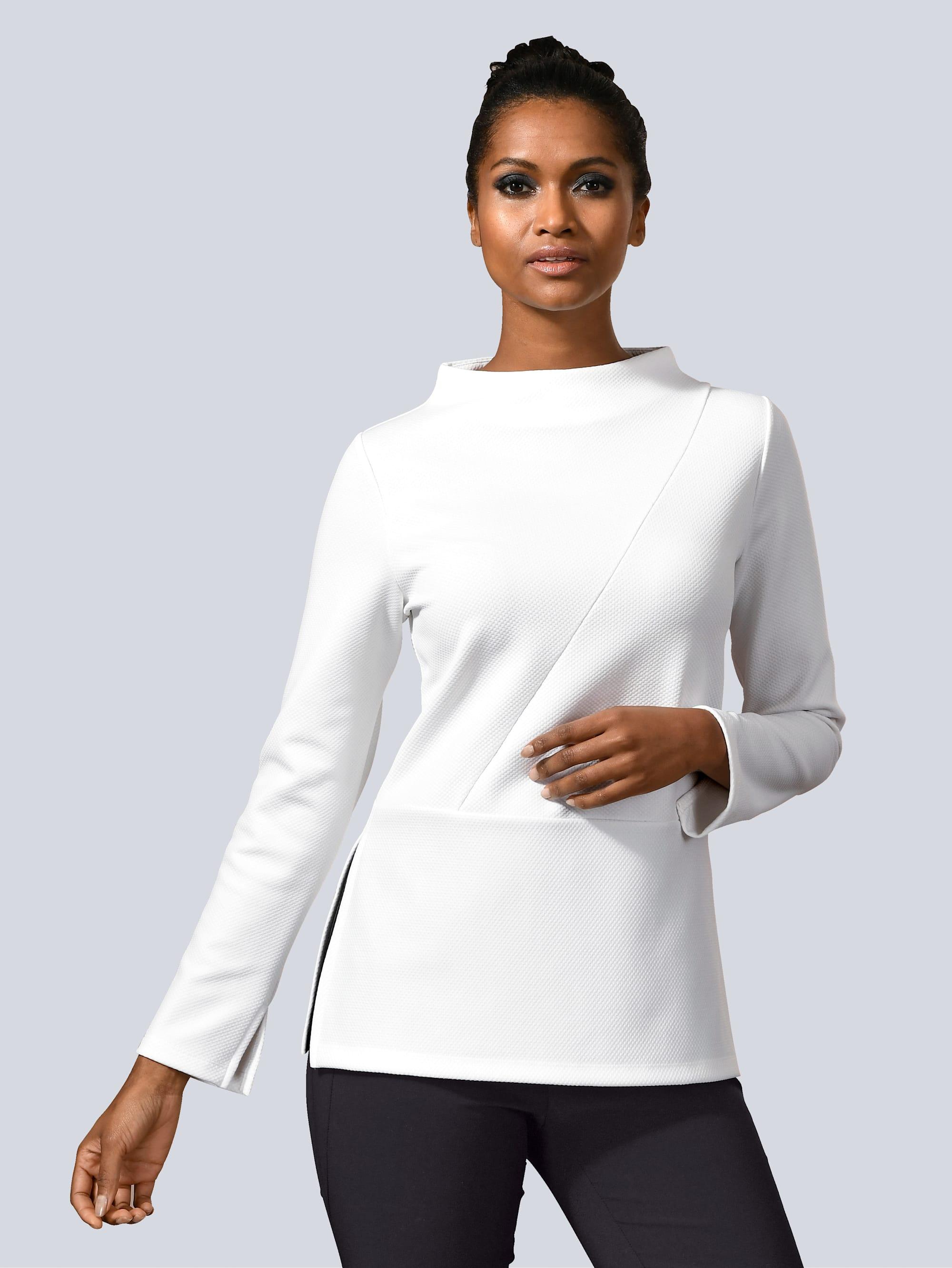 Alba Moda Shirt mit Schößchen Yzo11 CoITj