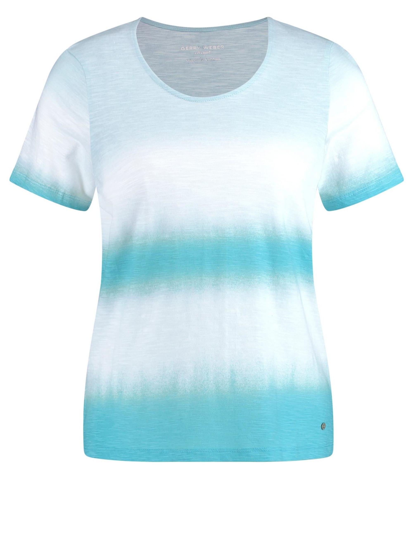 Gerry Weber Shirt mit Batikstreifen organic cotton fobyn 7GFIG