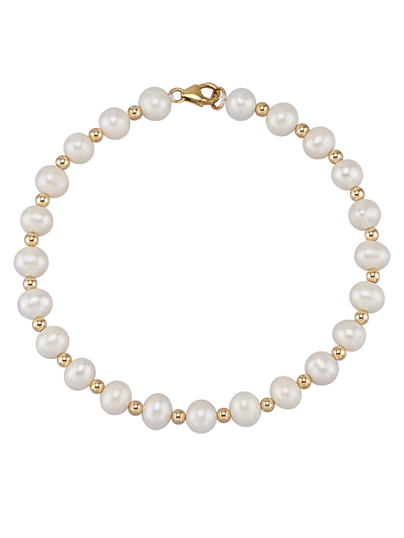 Diemer Perle Süwasserzuchtperlen-Armband qdGn5