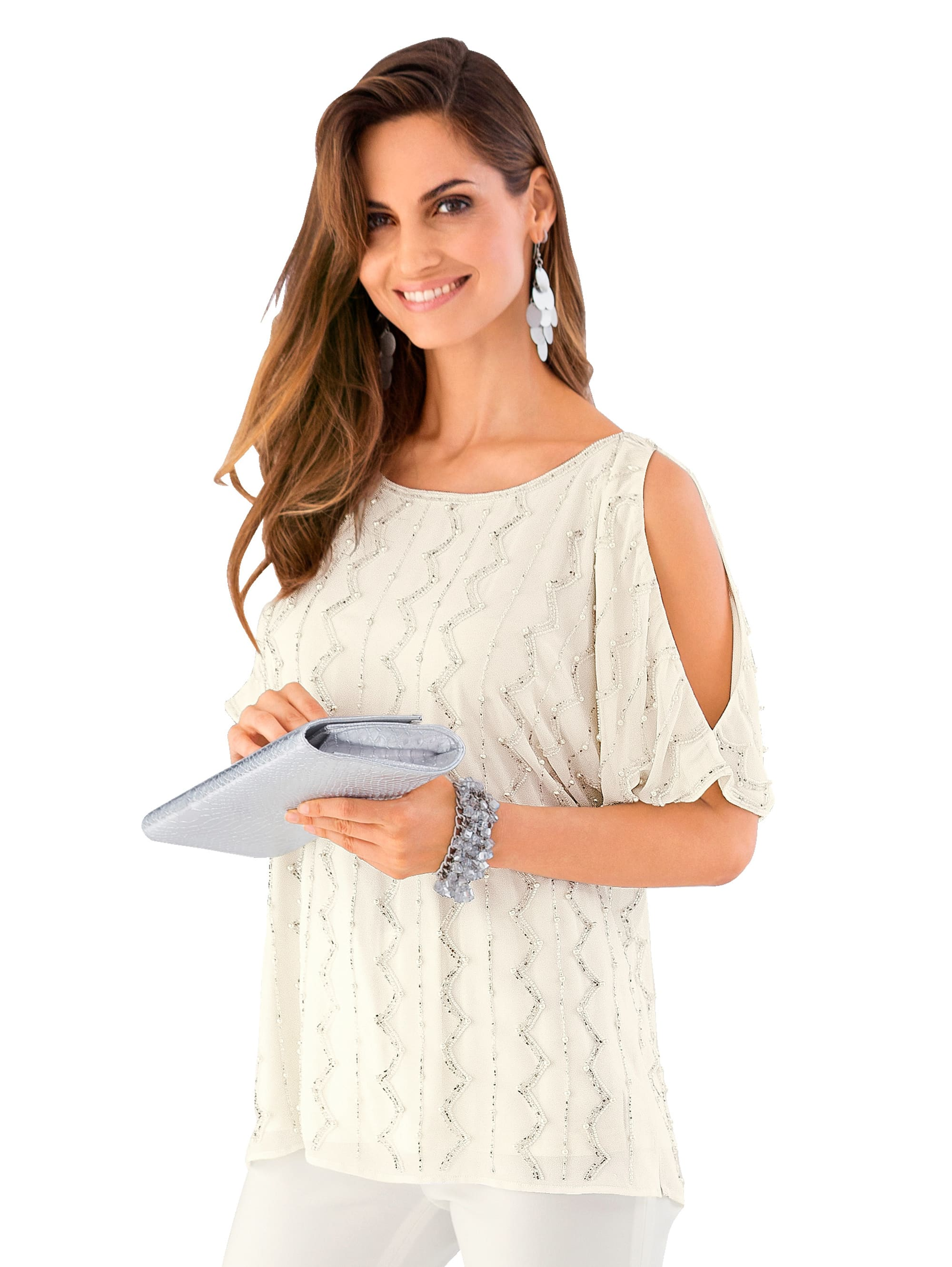 Together Bluse mit Cut-Out r3WOR 1XMra
