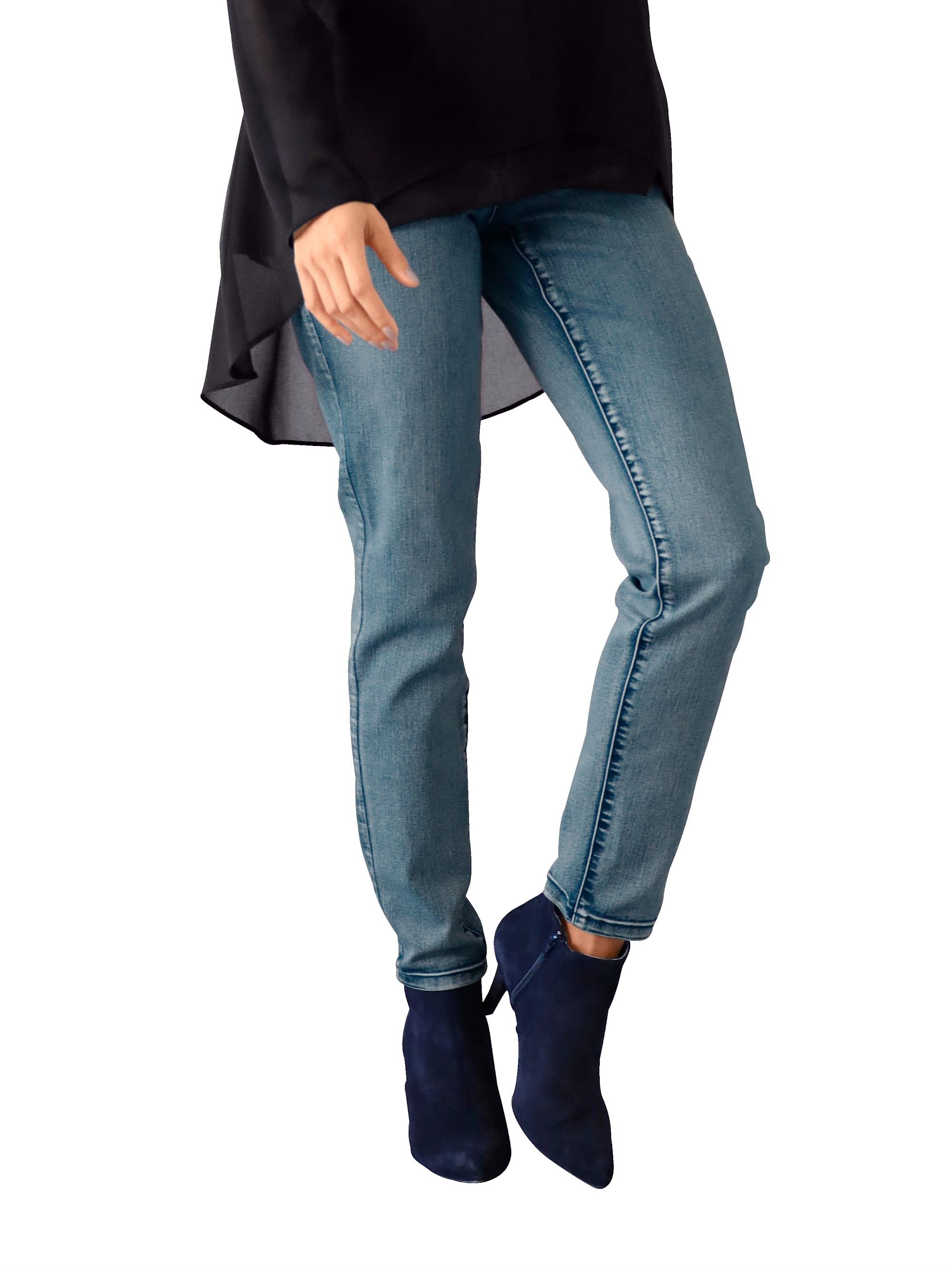 AMY VERMONT Jeans mit Stickerei an den Taschen bdsXP aRxaC