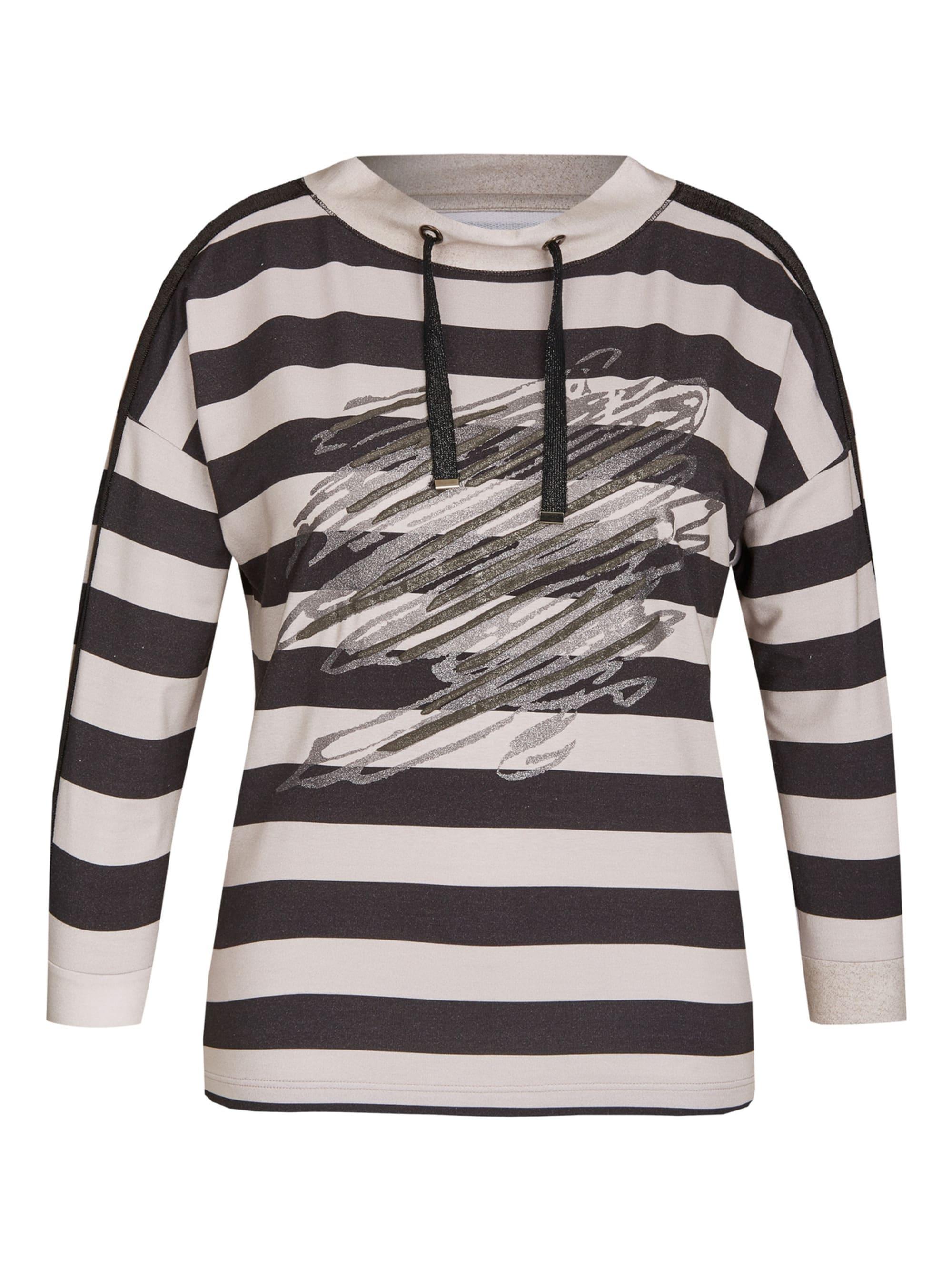 Rabe Shirt mit Ringelmuster und schimmernden Effekten lNiVa m9NtX