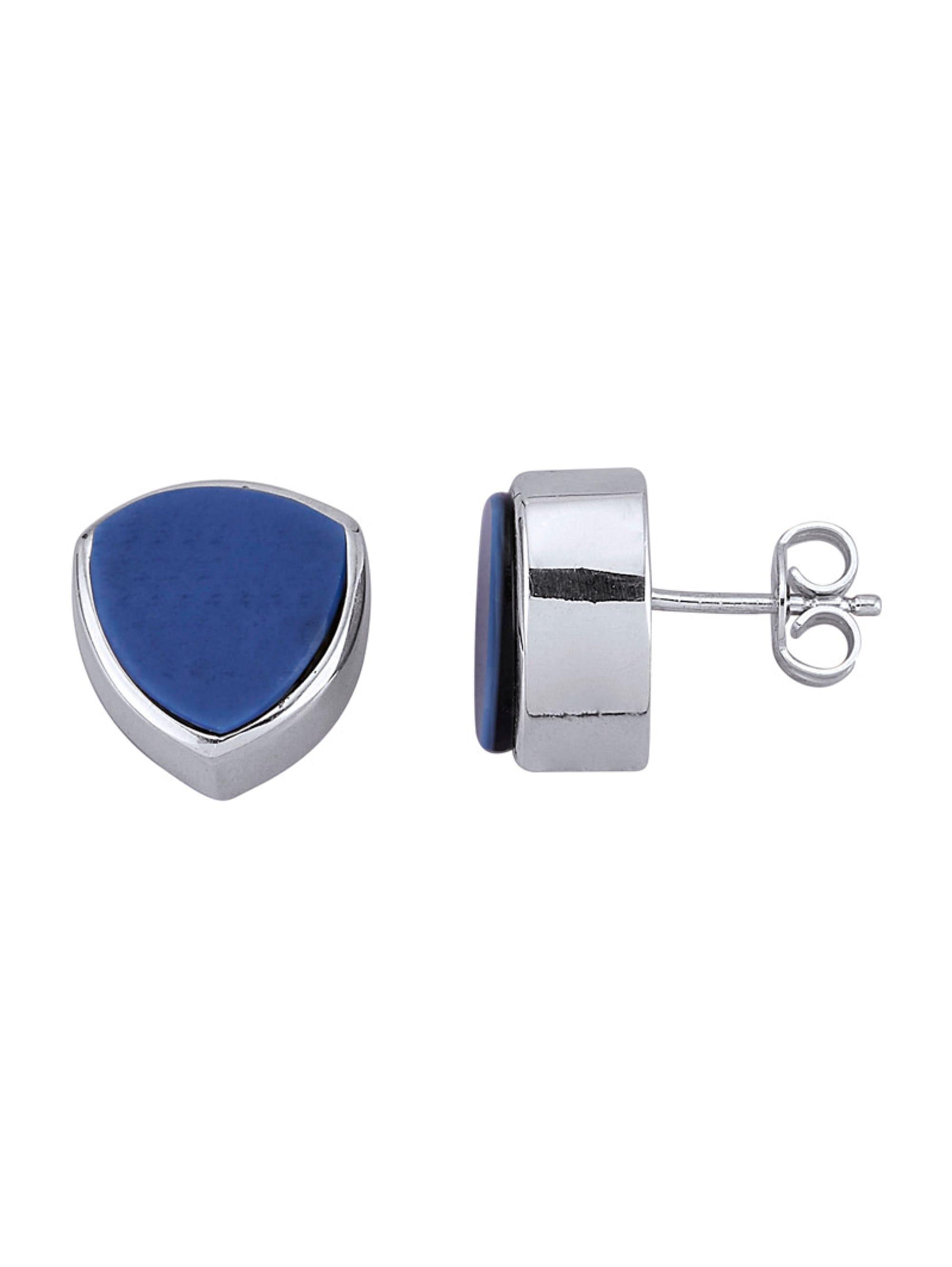 Diemer Farbstein Ohrringe in Silber 925 TofmV