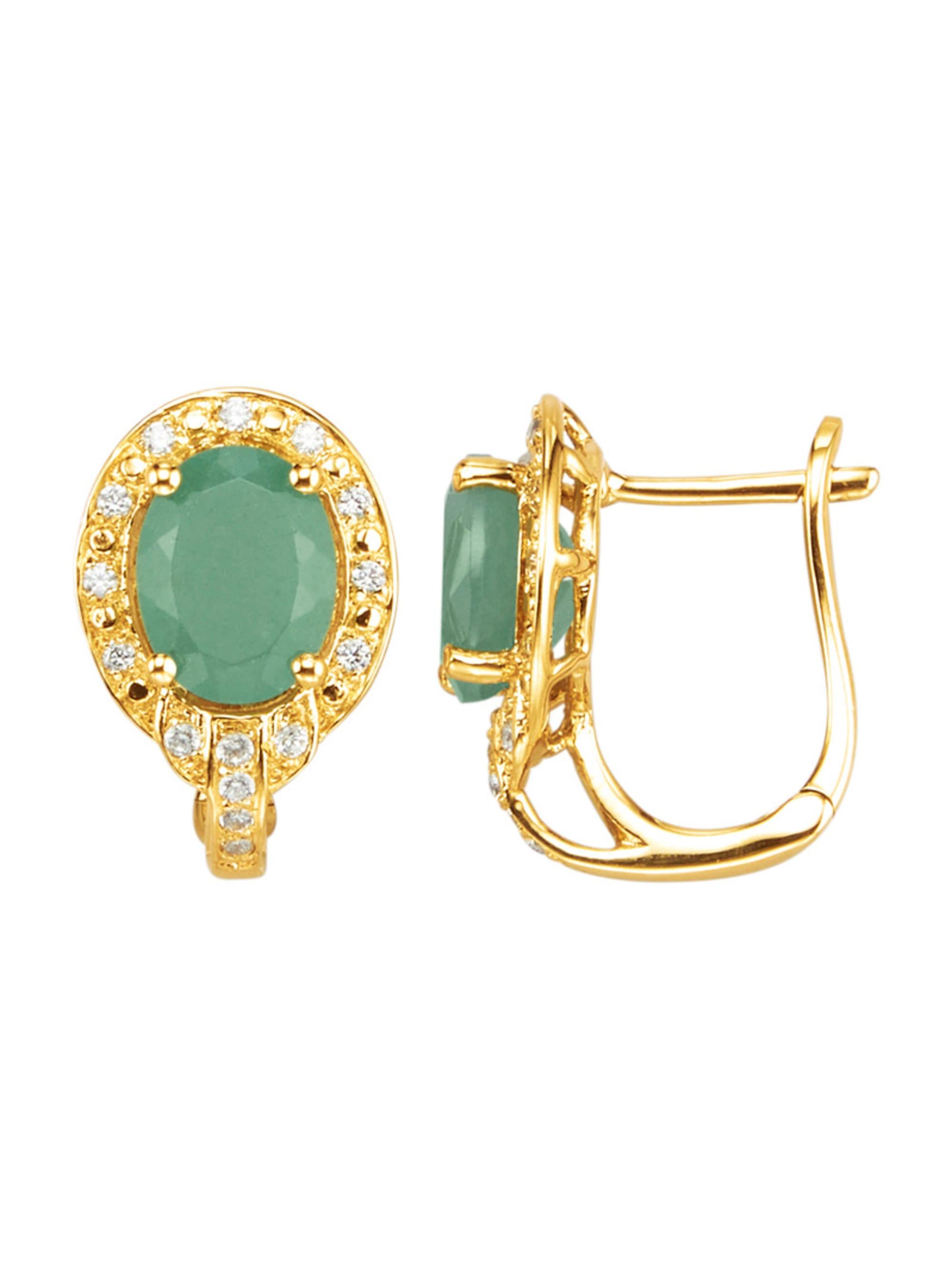 Ohrringe in Silber 925, vergoldet in Silber 925, vergoldet X4YRi