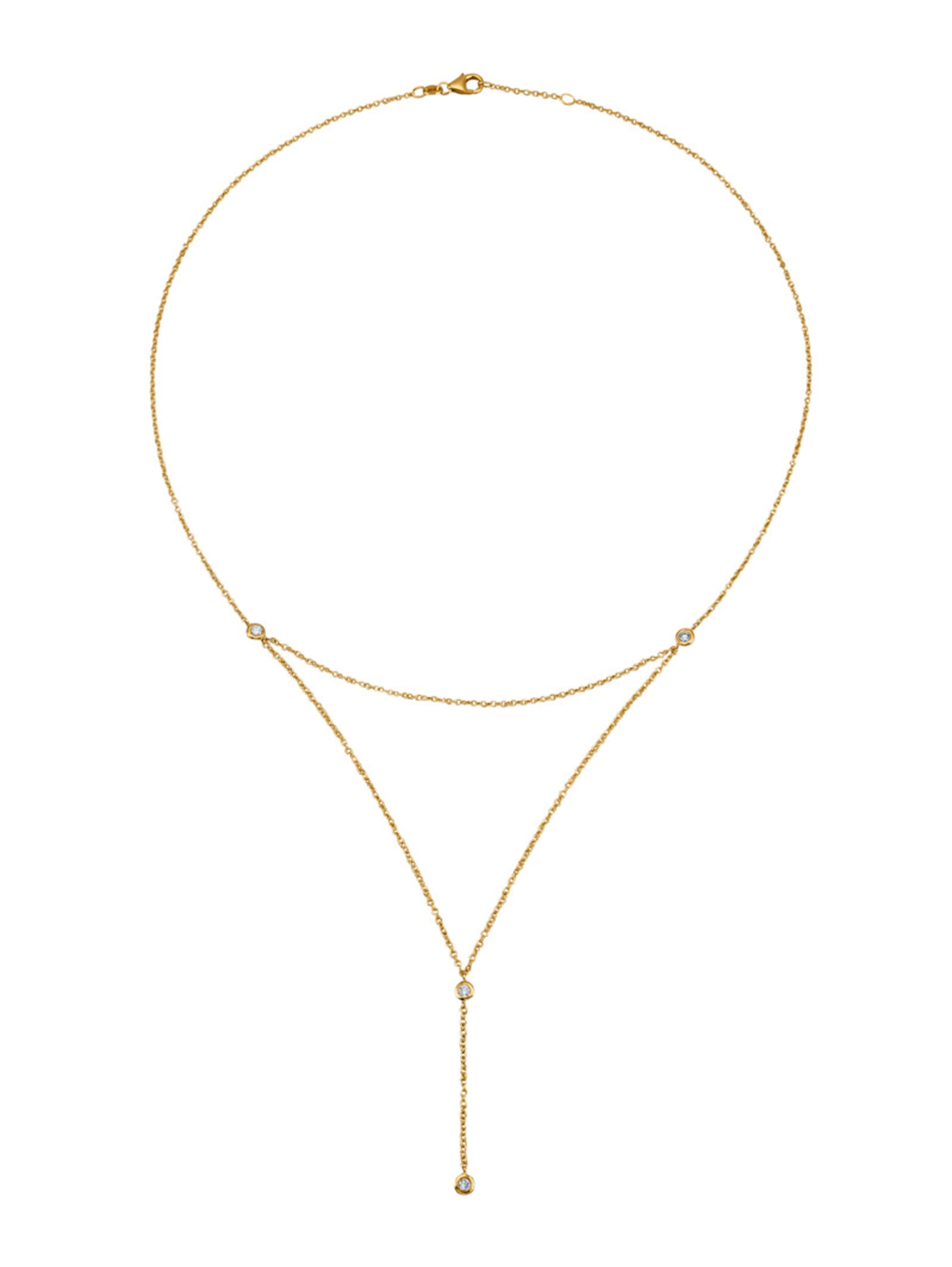 Diemer Diamant Collier mit Brillanten hTAIk