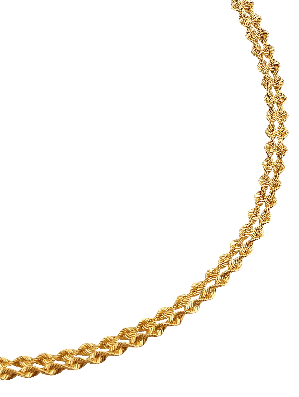 Kordel-Collier 2rhg. in Gold qObfm
