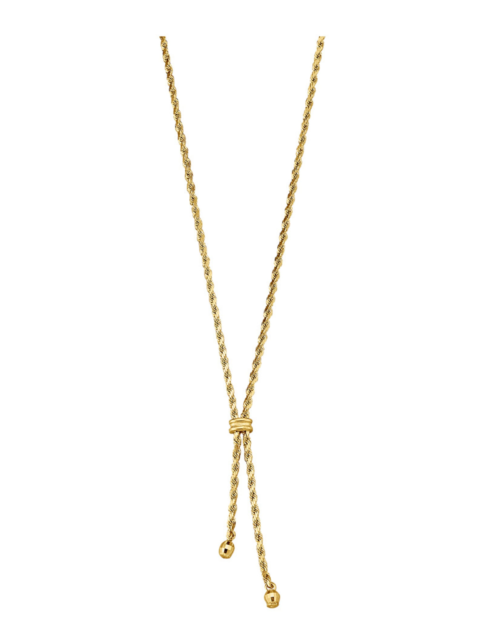 Y-Collier in Gelbgold 375 XPel9