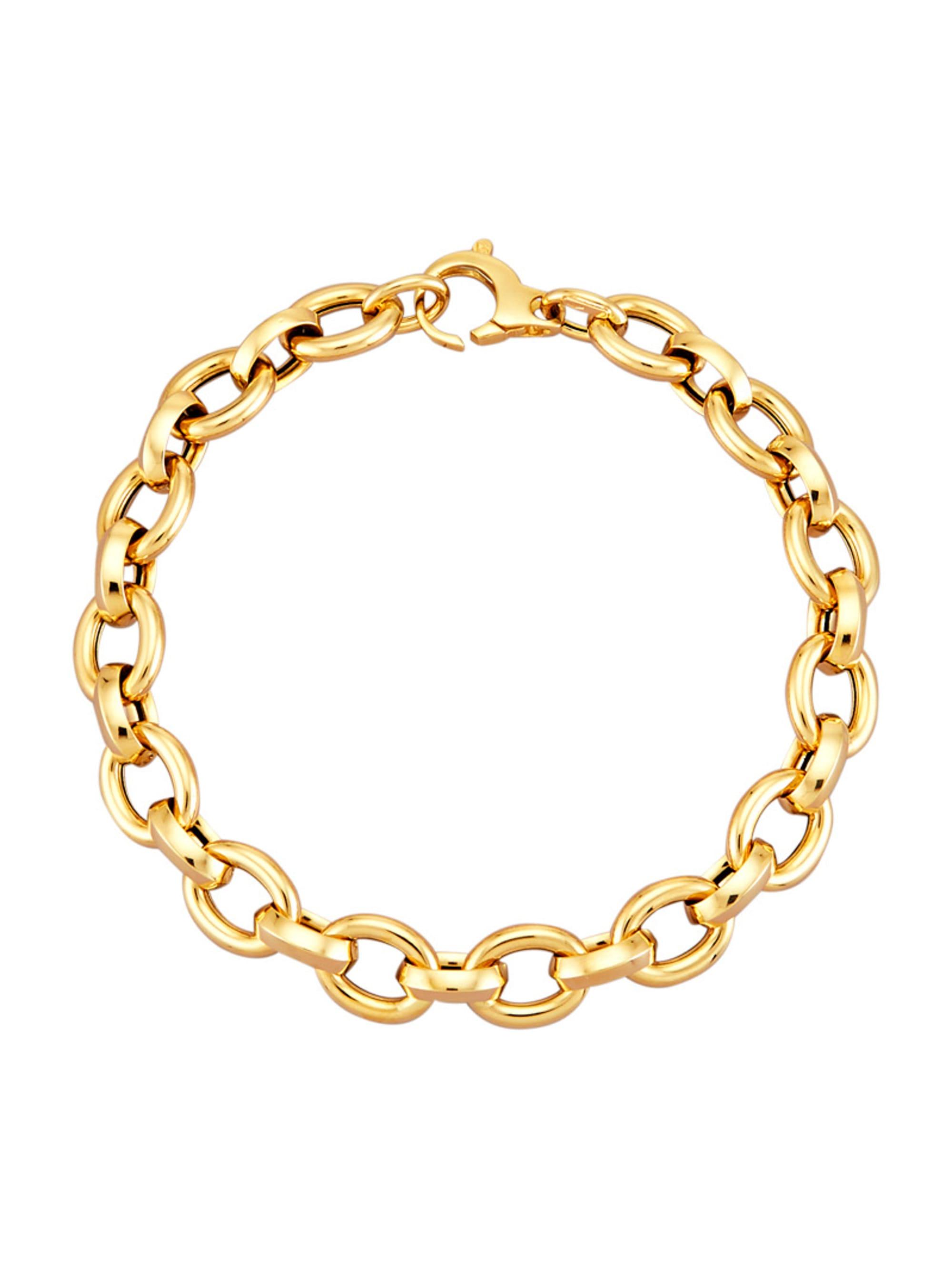 Diemer Gold Ankerarmband in Gelbgold 585 uxaPp