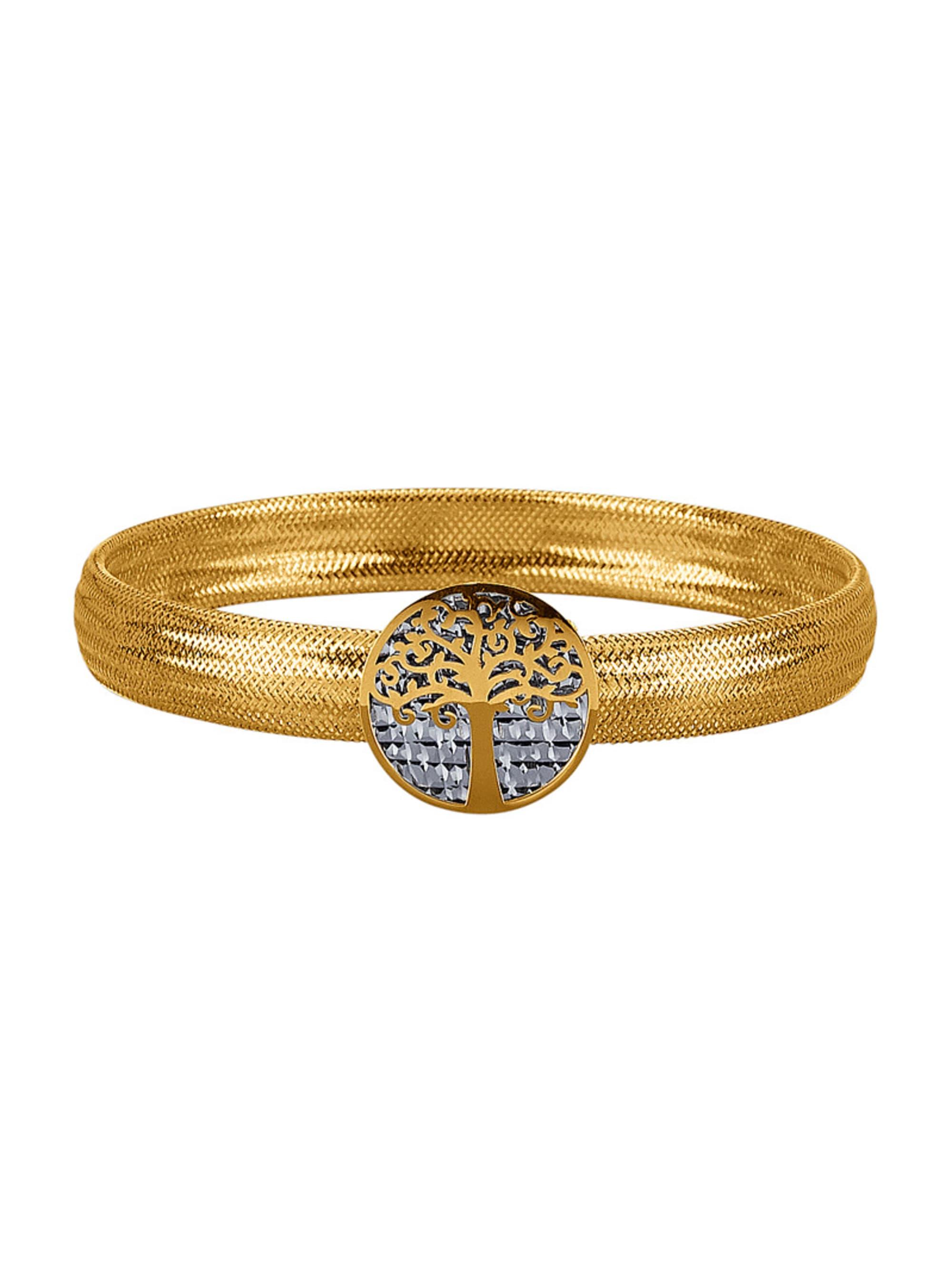 Mesh-Armband in Gelbgold 375 3EHoq