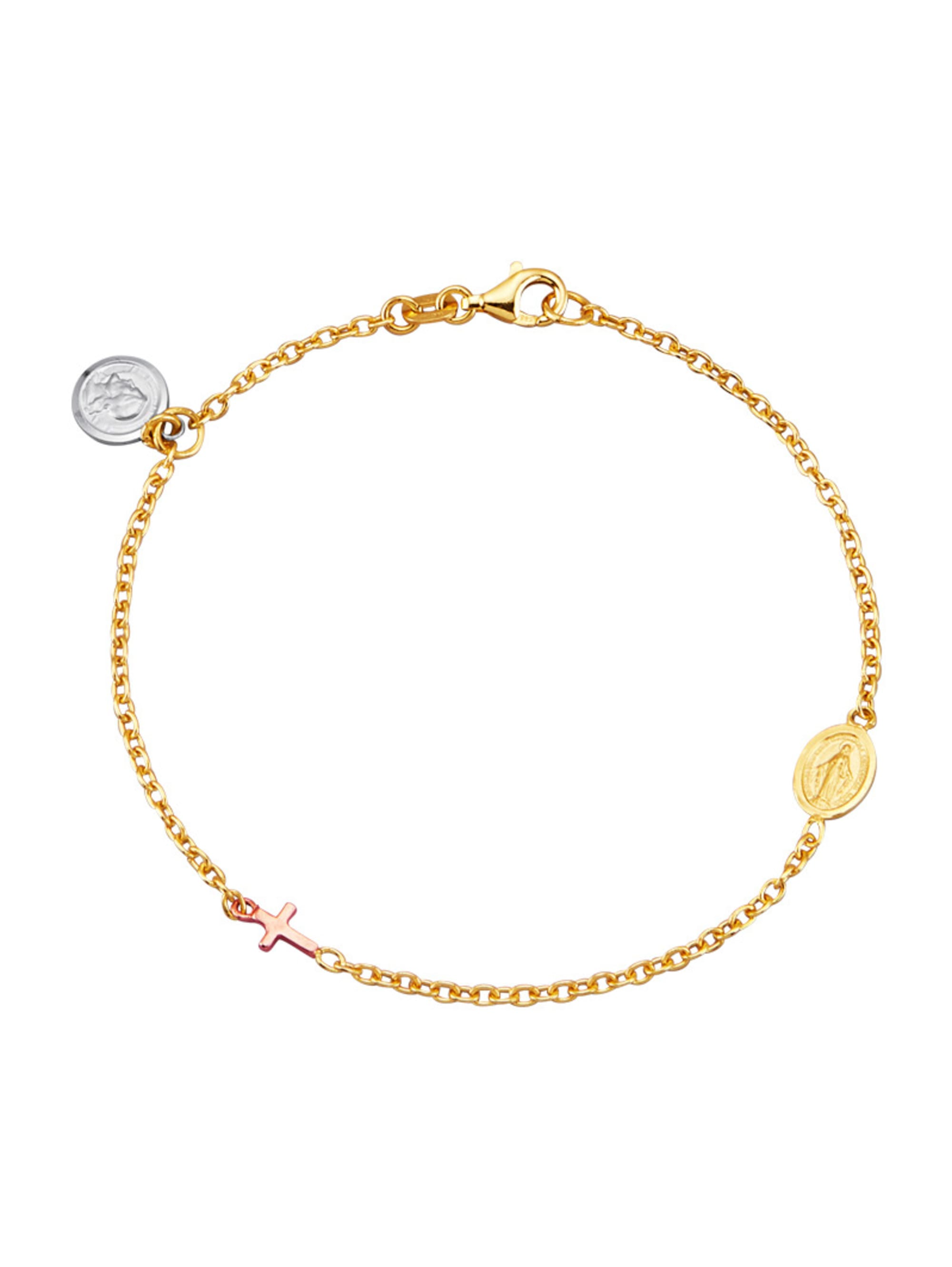 Armband in Gelbgold 375 mStkP