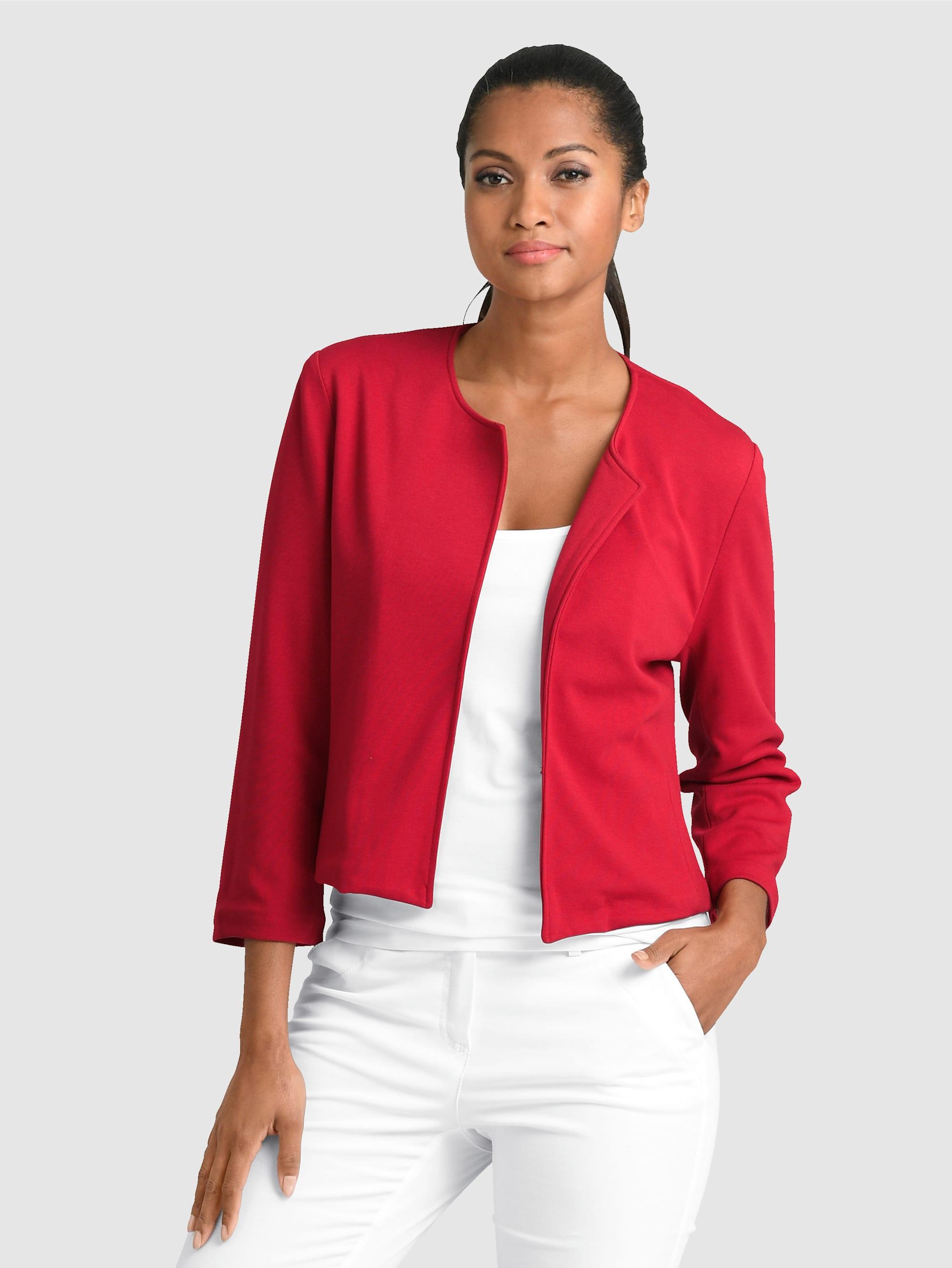 Alba Moda Bolero-Blazer in aufregender Modefarbe 0X8gY qSHlF