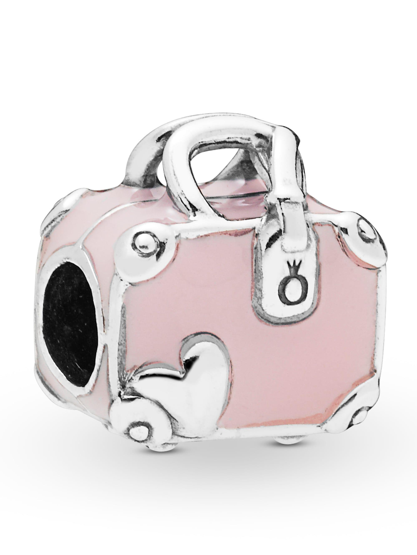 Pandora Charm -Rosa Reisetasche- 798063EN124 SUMYi
