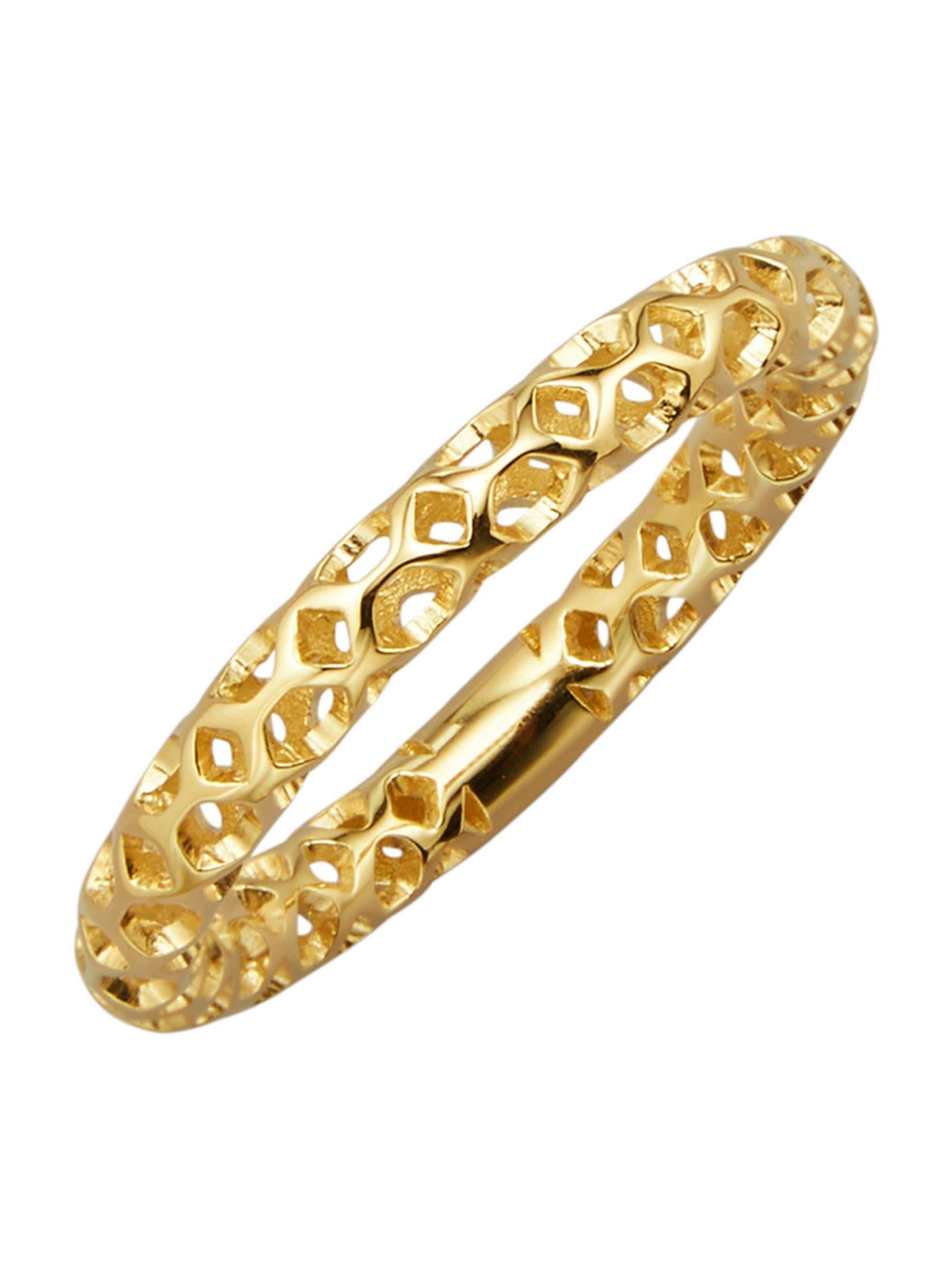Diemer Gold Damenring in Gelbgold 585 QiCzK