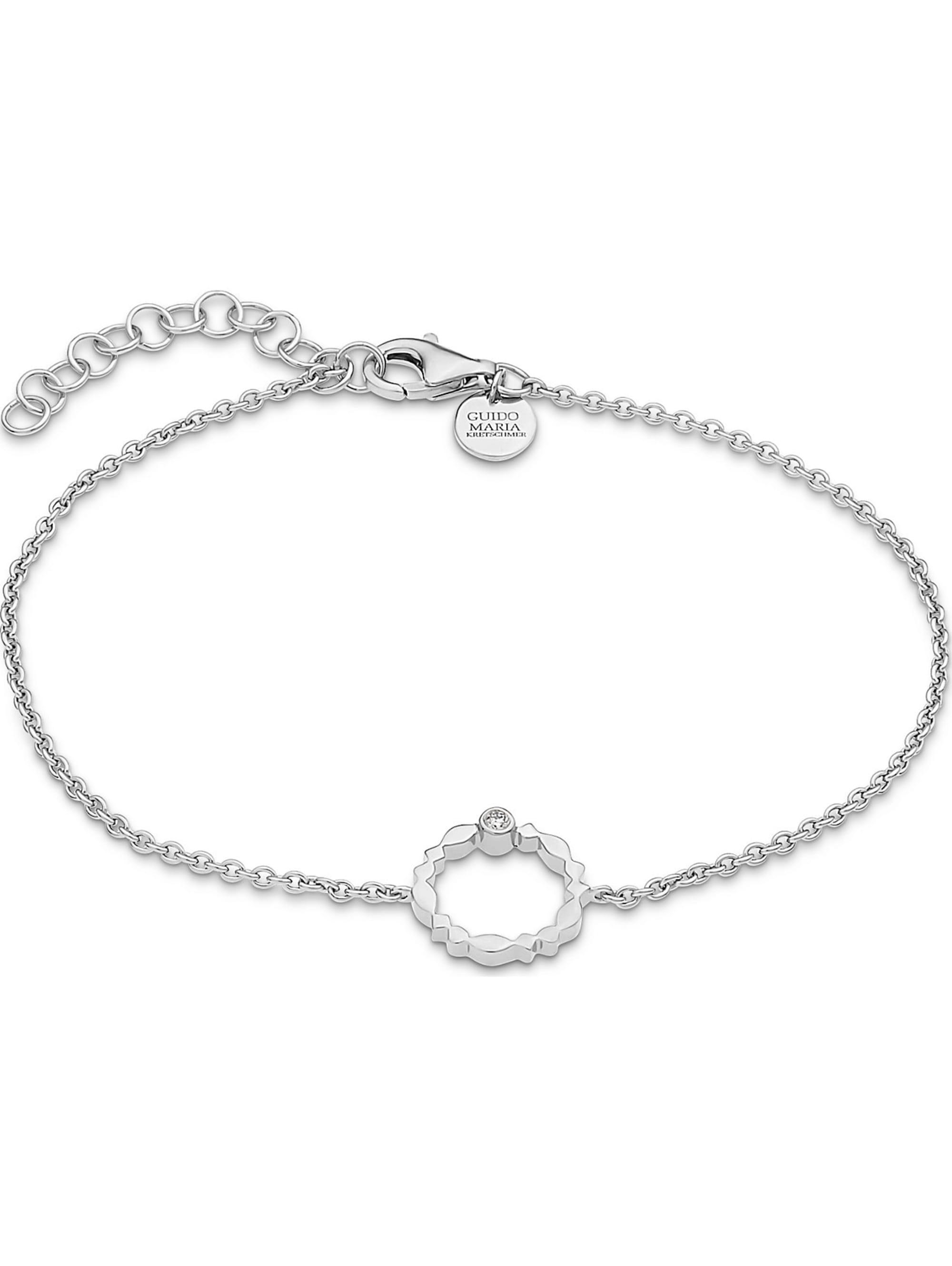 Guido Maria Kretschmer Guido Maria Kretschmer Damen-Armband 925er Silber 1 Diamant 2wCgu