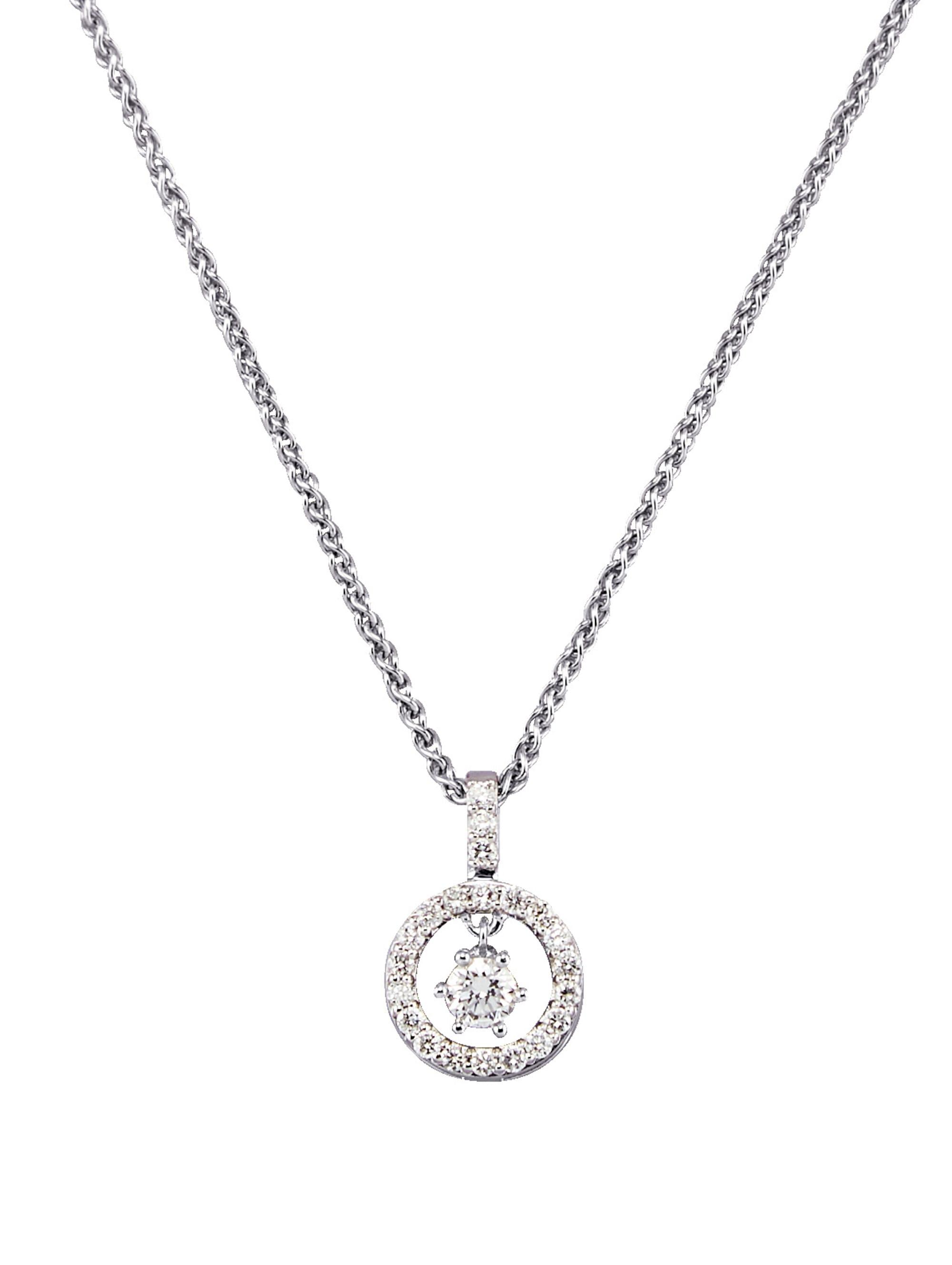 Diemer Diamant Anhänger mit Kette rqbUJ