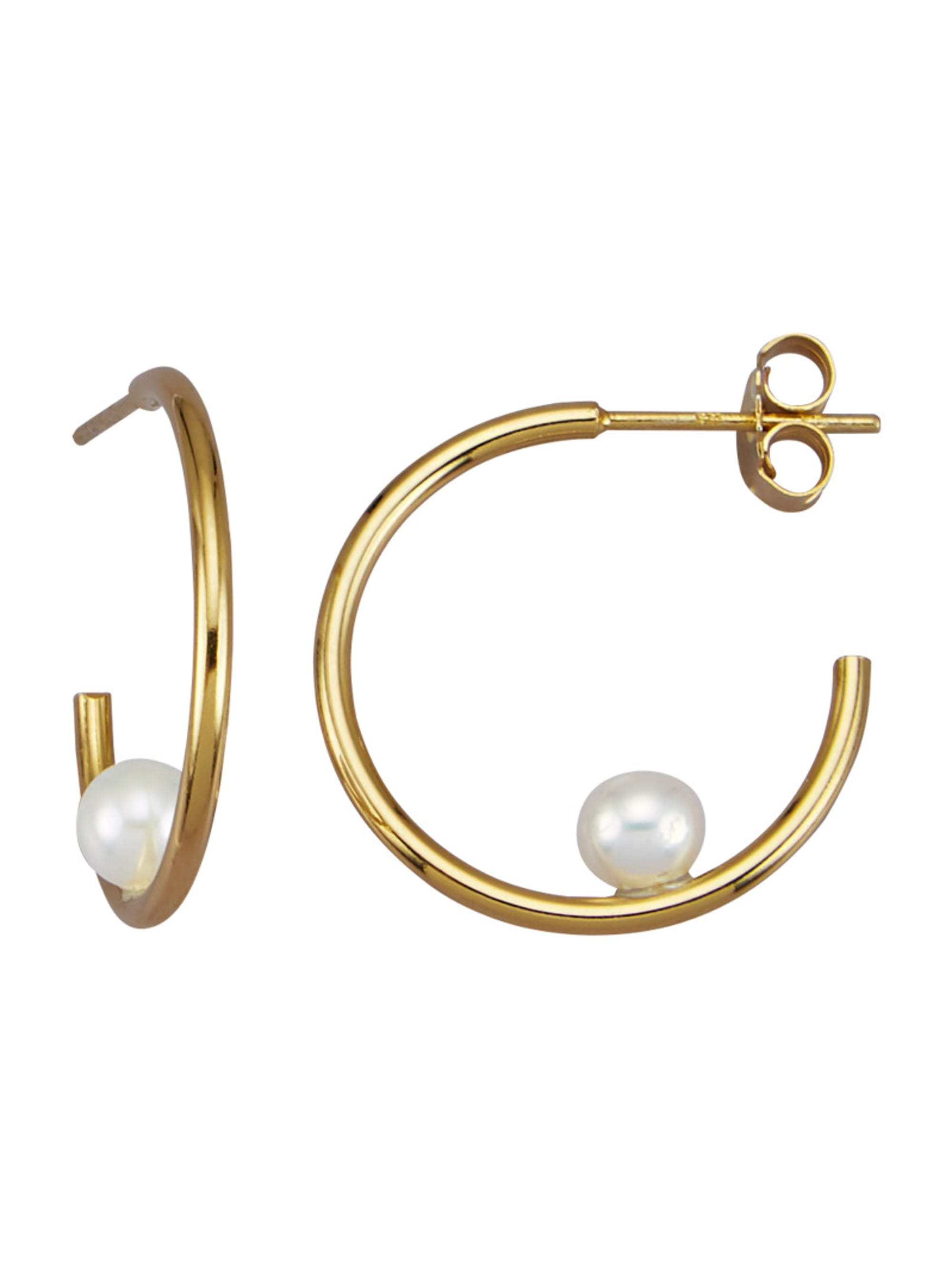 AMY VERMONT Ohrringe mit Süßwasser-Zuchtperlen 83KSE