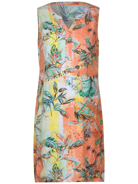 Cecil Ärmelloses Kleid mit Muster avN6a M6D3l
