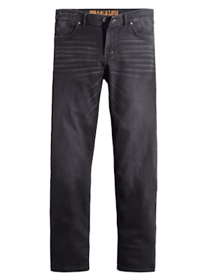 Jogpant en matière molletonnée aspect jean
