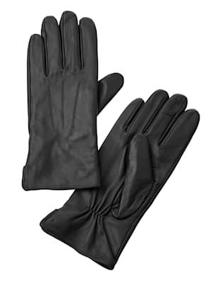 Kožené rukavice z měkké jehněčí nappa kůže