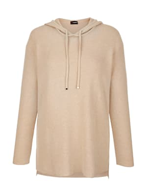 Pullover in Baumwoll-Kaschmir Qualität