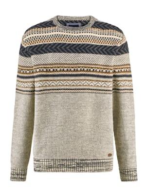 Pullover im Norweger-Stil