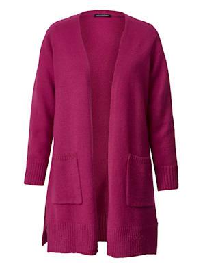 Manteau en maille au coloris lumineux