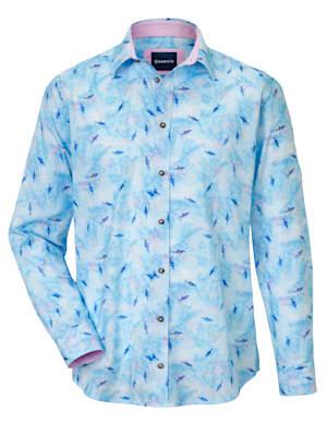 Chemise à imprimé 'requins' tendance