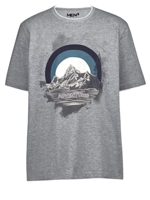 T-Shirt in Doppeloptik